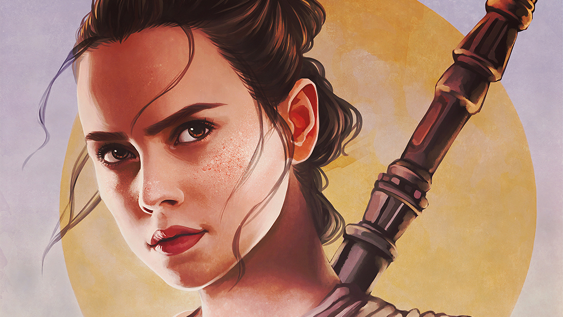 1920x1080 Rey Star Wars Fanart Laptop Full Hd 1080p Hd 4k
