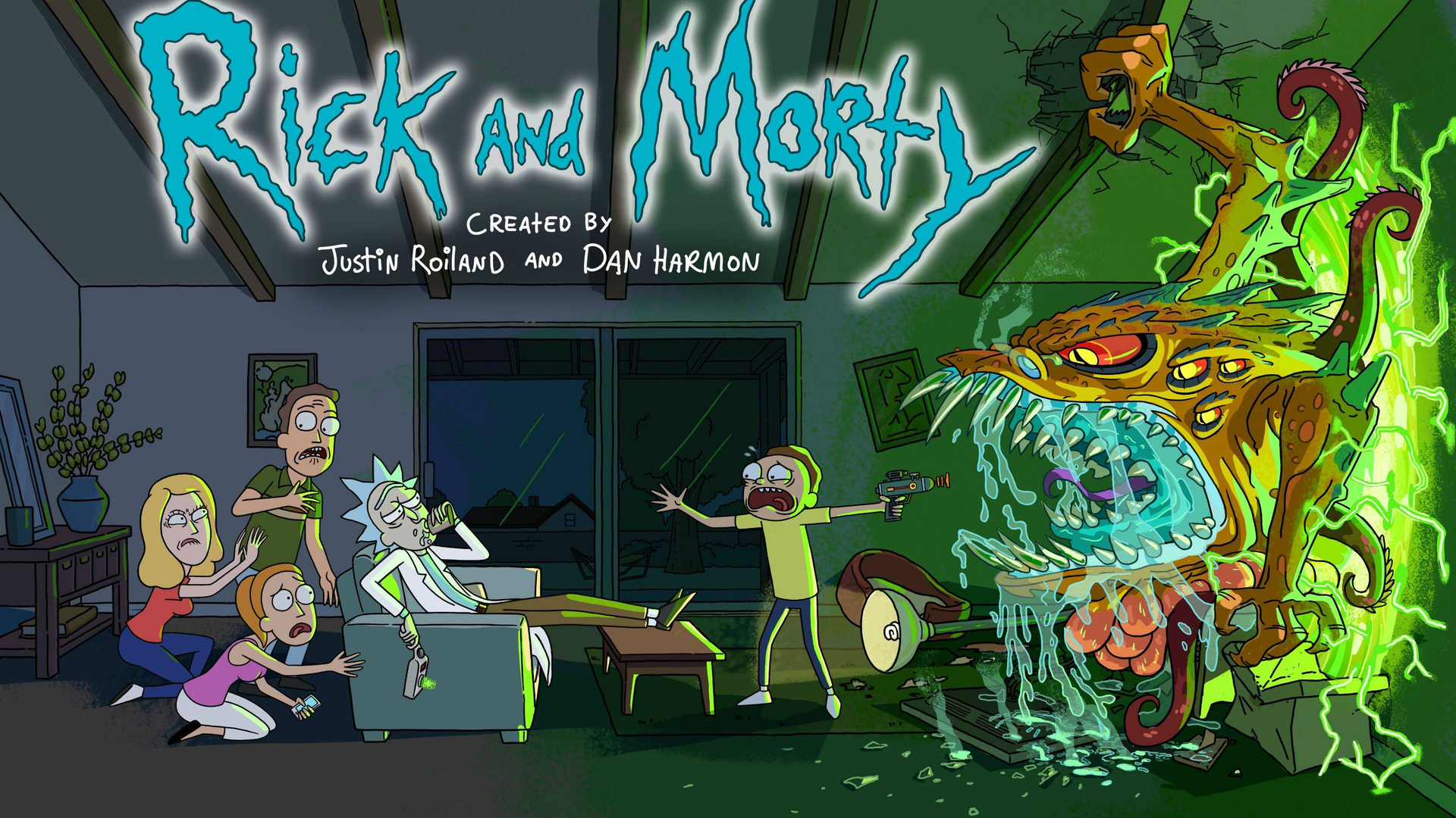 1920x1080 Rick And Morty 2017 Laptop Full Hd 1080p Hd 4k Wallpapers