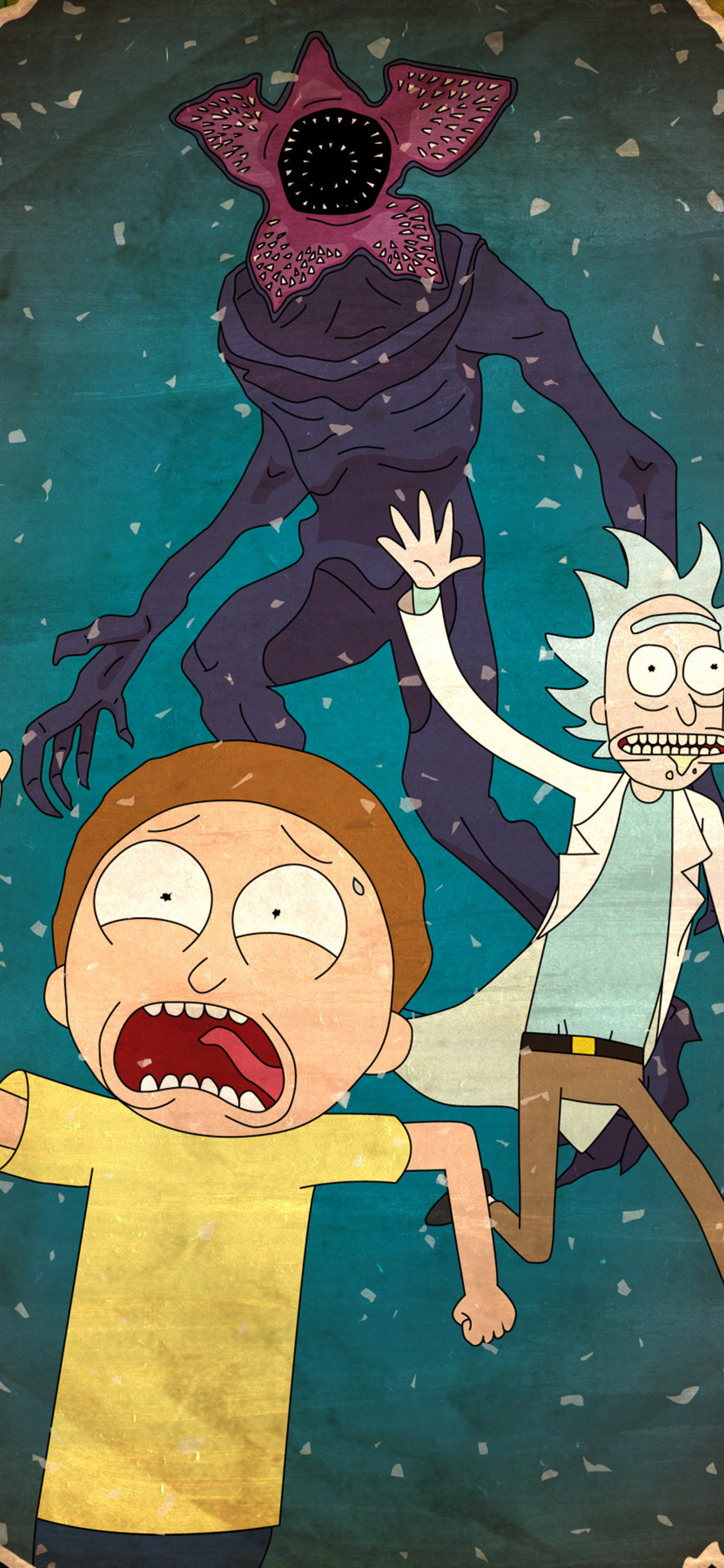 1125x2436 Rick And Morty 4k Iphone XS,Iphone 10,Iphone X ...