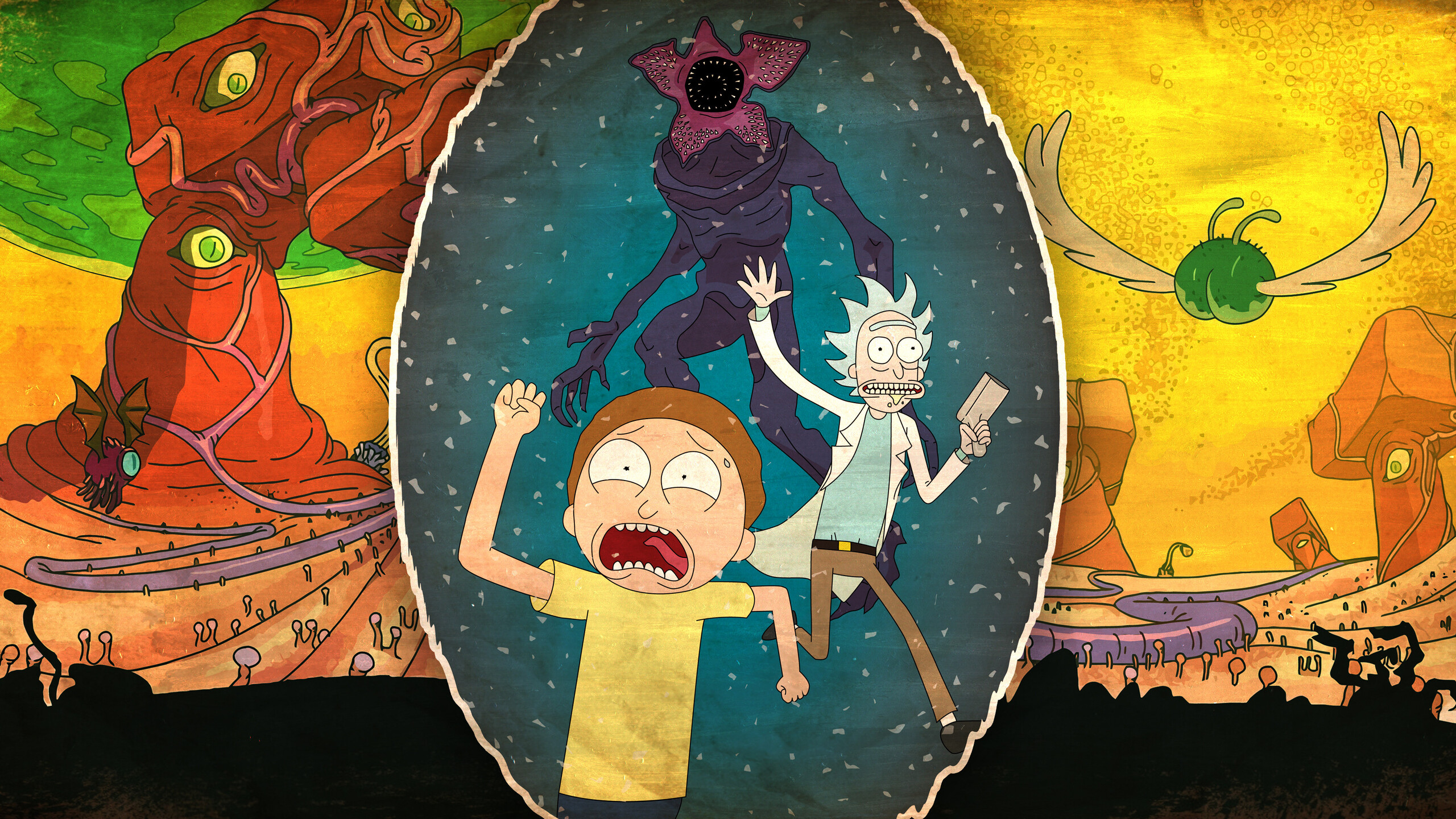2560x1440 Rick And Morty 4k 1440p Resolution Hd 4k Wallpapers