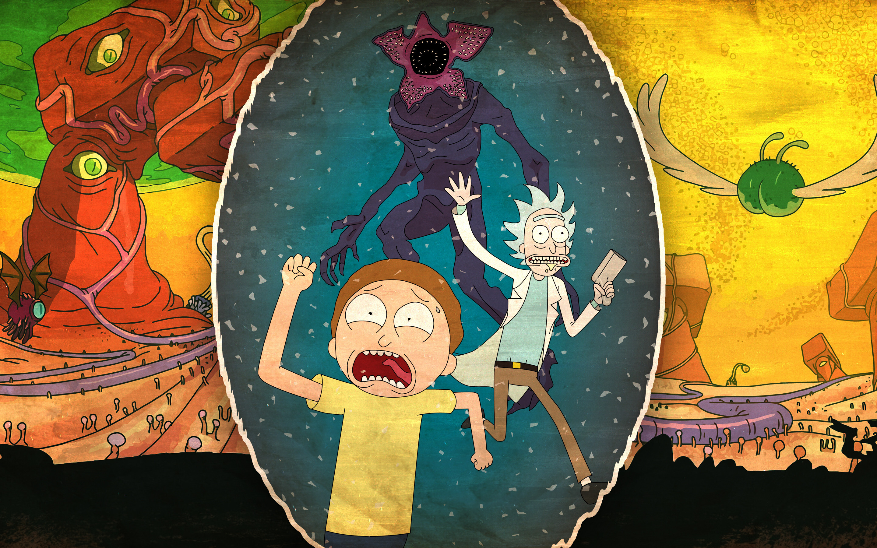 2880x1800 Rick And Morty 4k Macbook Pro Retina Hd 4k Wallpapers