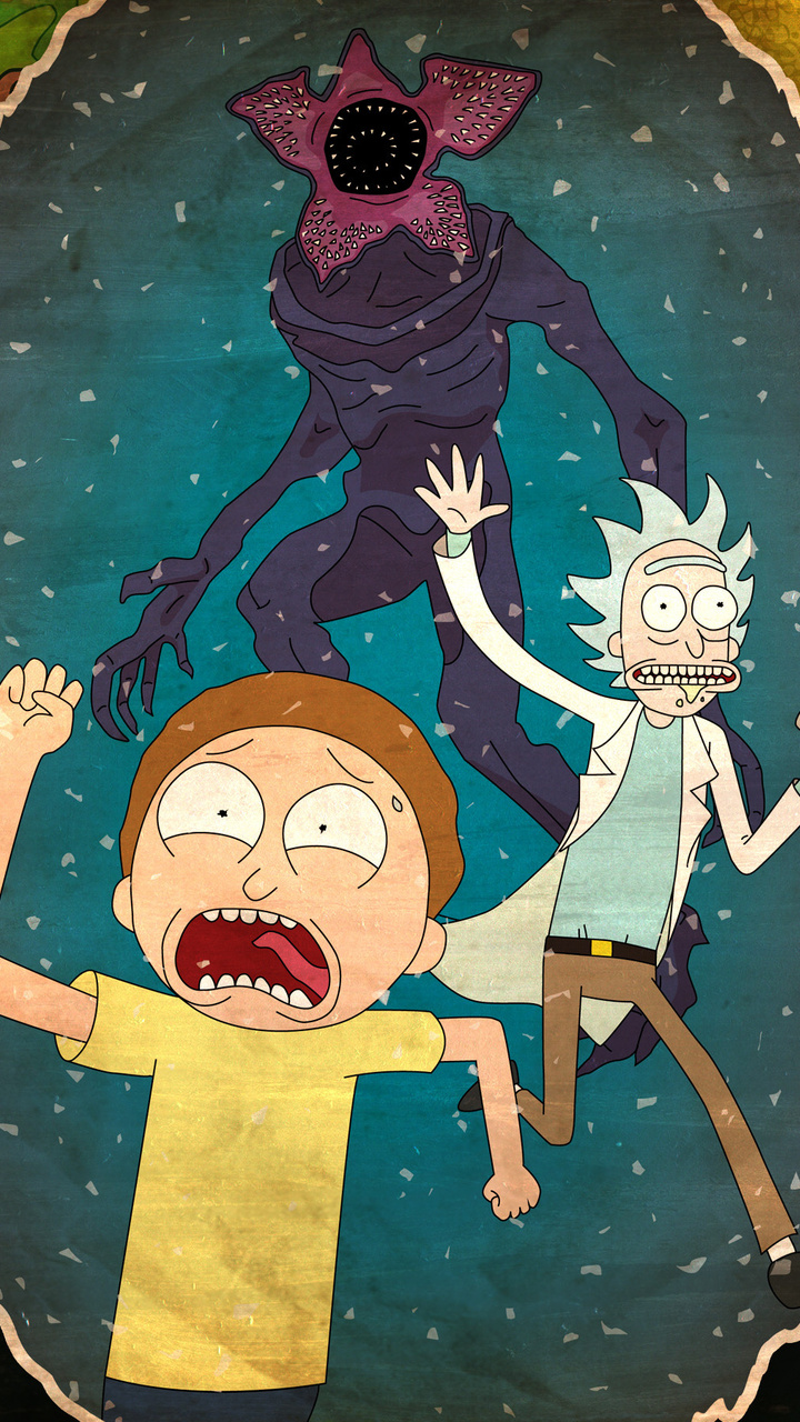 720x1280 Rick And Morty 4k Moto G,X Xperia Z1,Z3 Compact ...