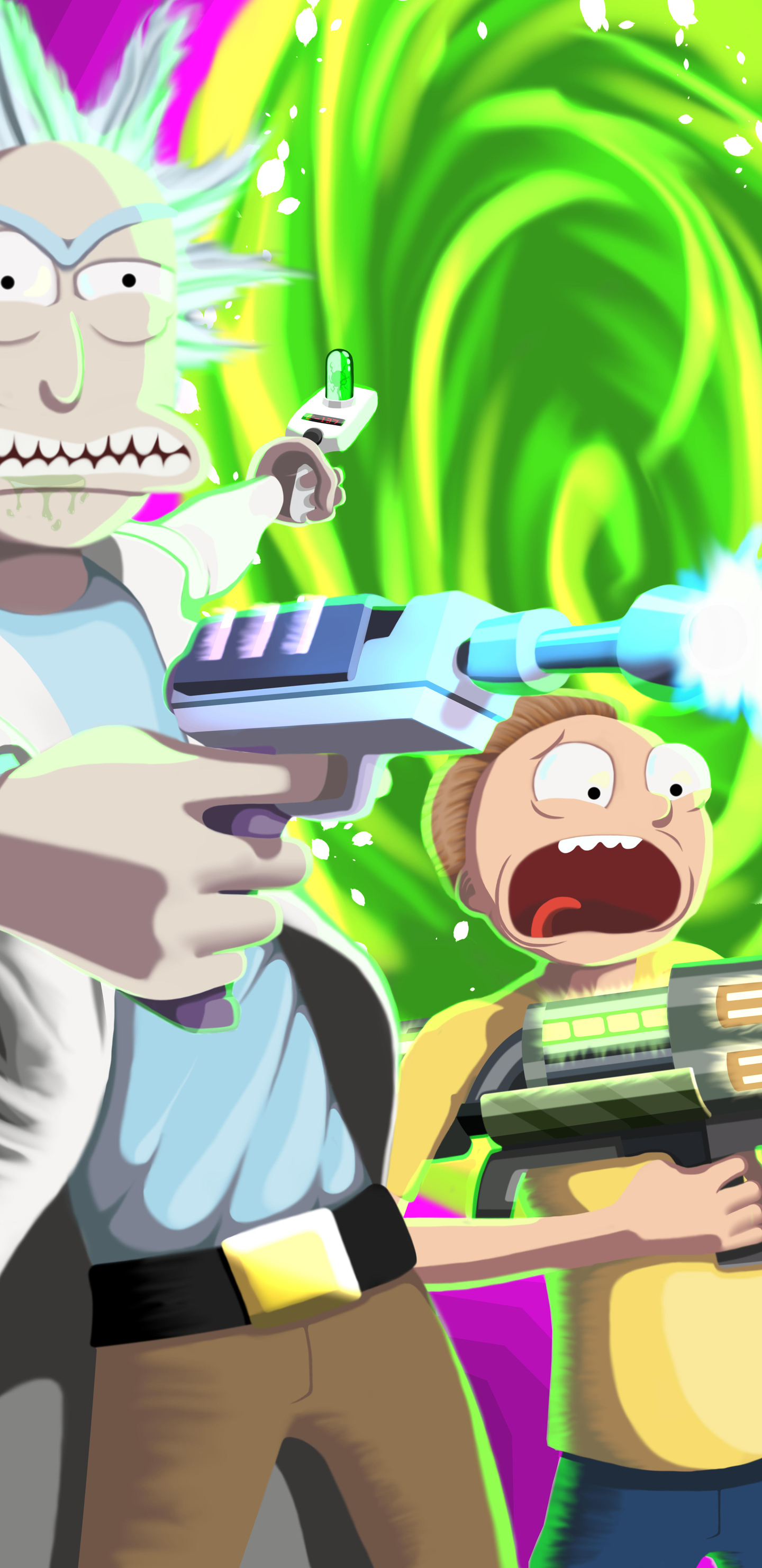 1440x2960 Rick And Morty 8k 2020 Samsung Galaxy Note 9,8 ...