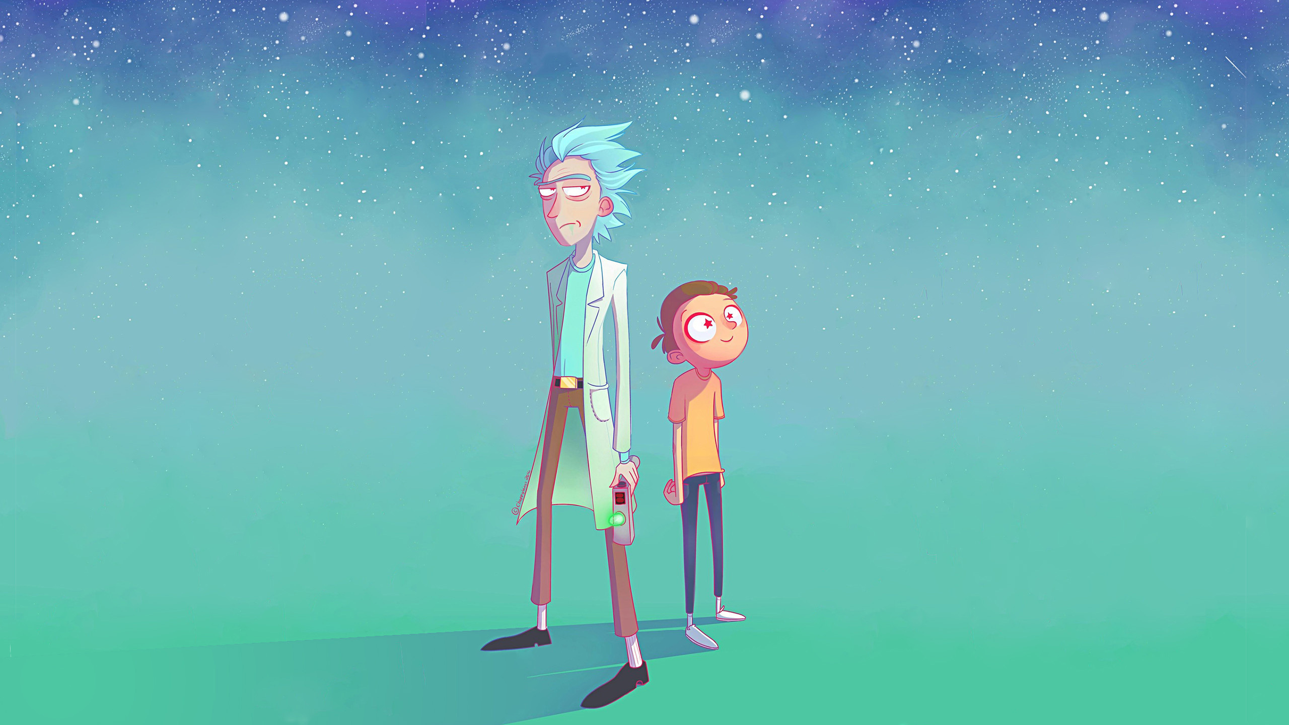 2560x1440 Rick And Morty Artwork 1440p Resolution Hd 4k