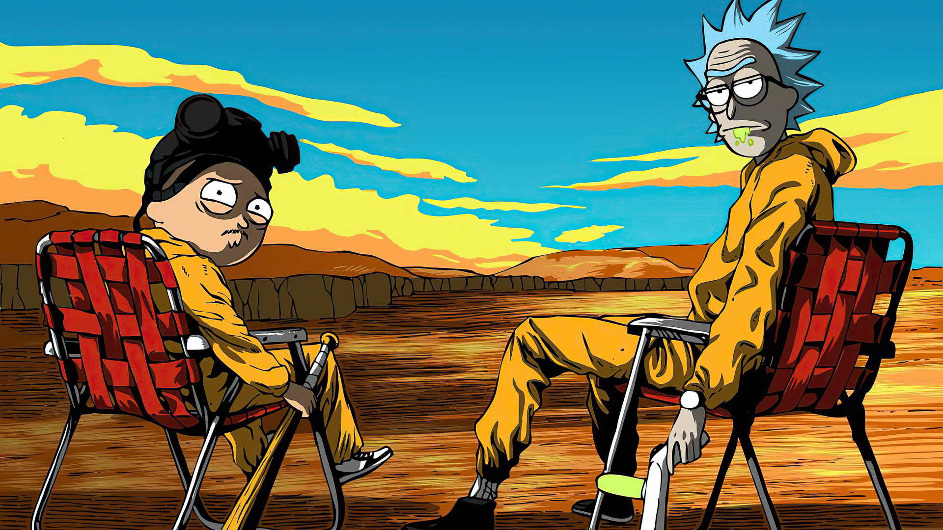 1920x1080 Rick And Morty Breaking Bad 4k Laptop Full Hd 1080p Hd 4k Wallpapers Images Backgrounds Photos And Pictures