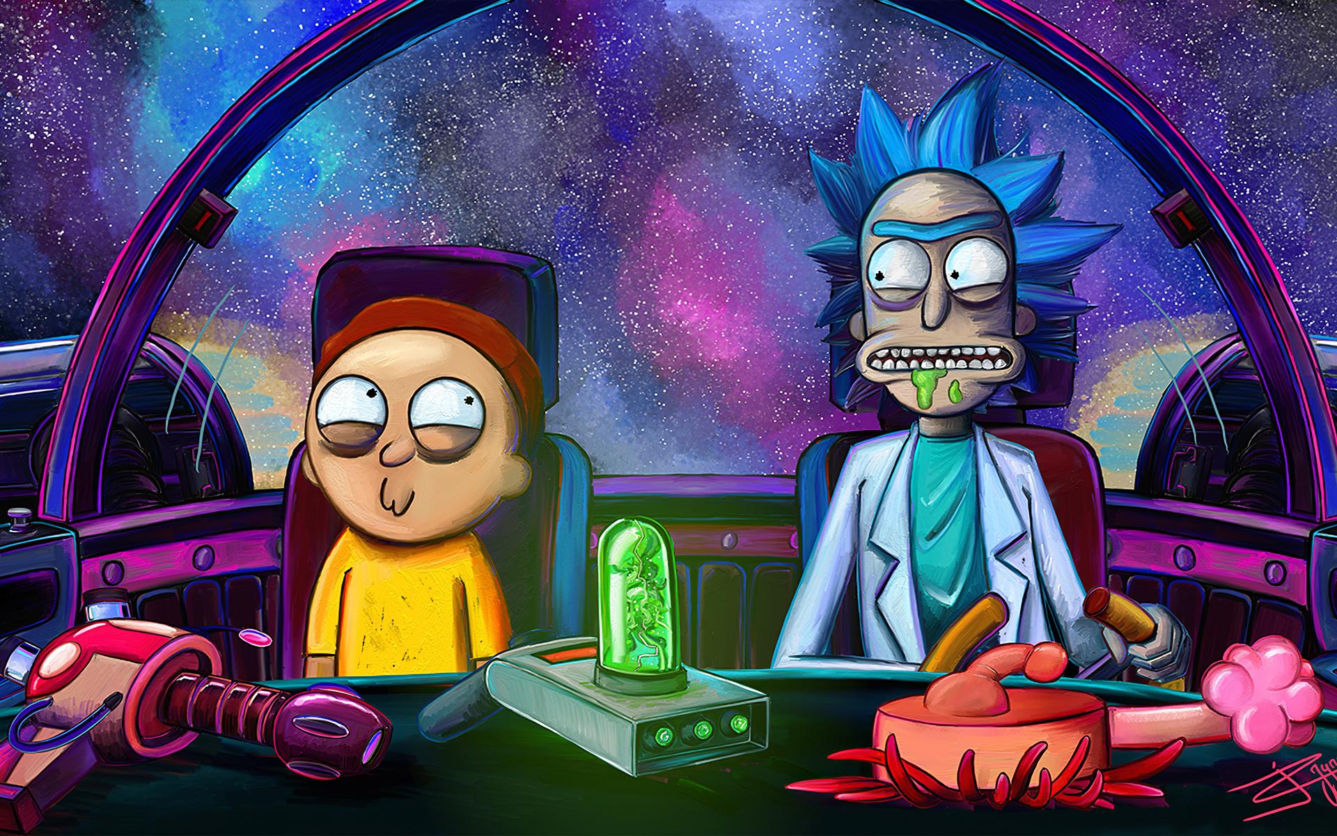1920x1200 Rick And Morty Netflix 2020 1080P Resolution HD ...