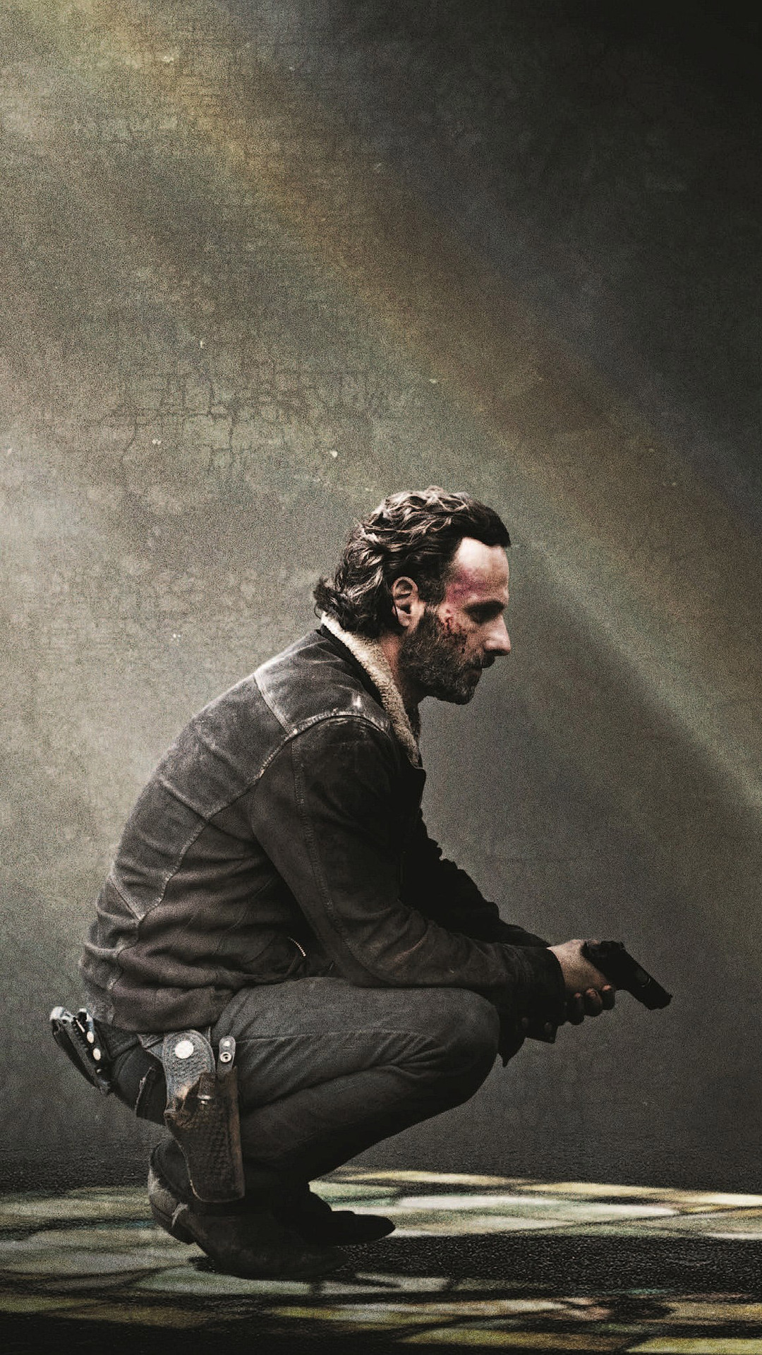 1080x1920 rick grimes the walking dead iphone 7,6s,6 plus, pixel xl