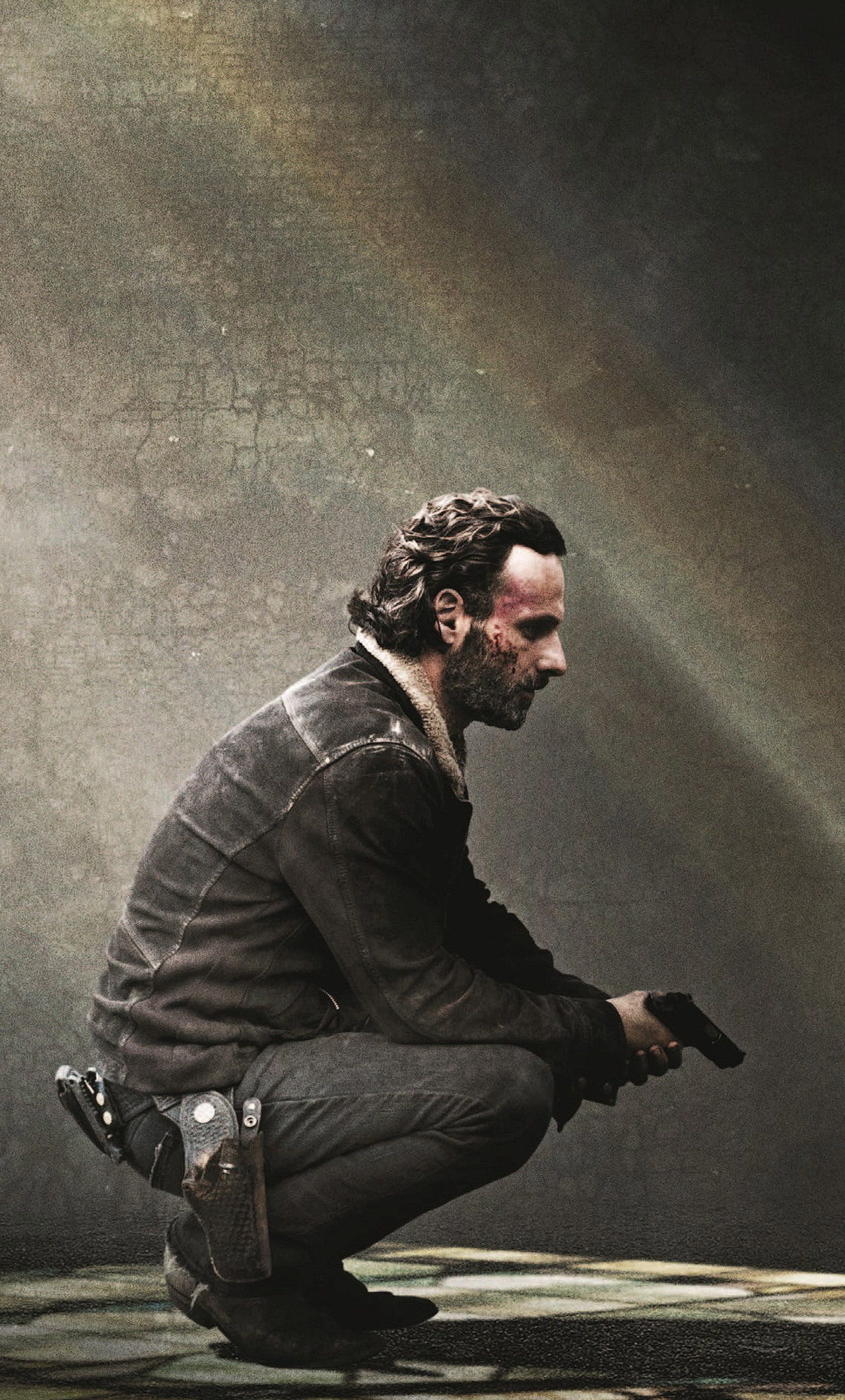 1280x2120 rick grimes the walking dead iphone 6+ hd 4k wallpapers