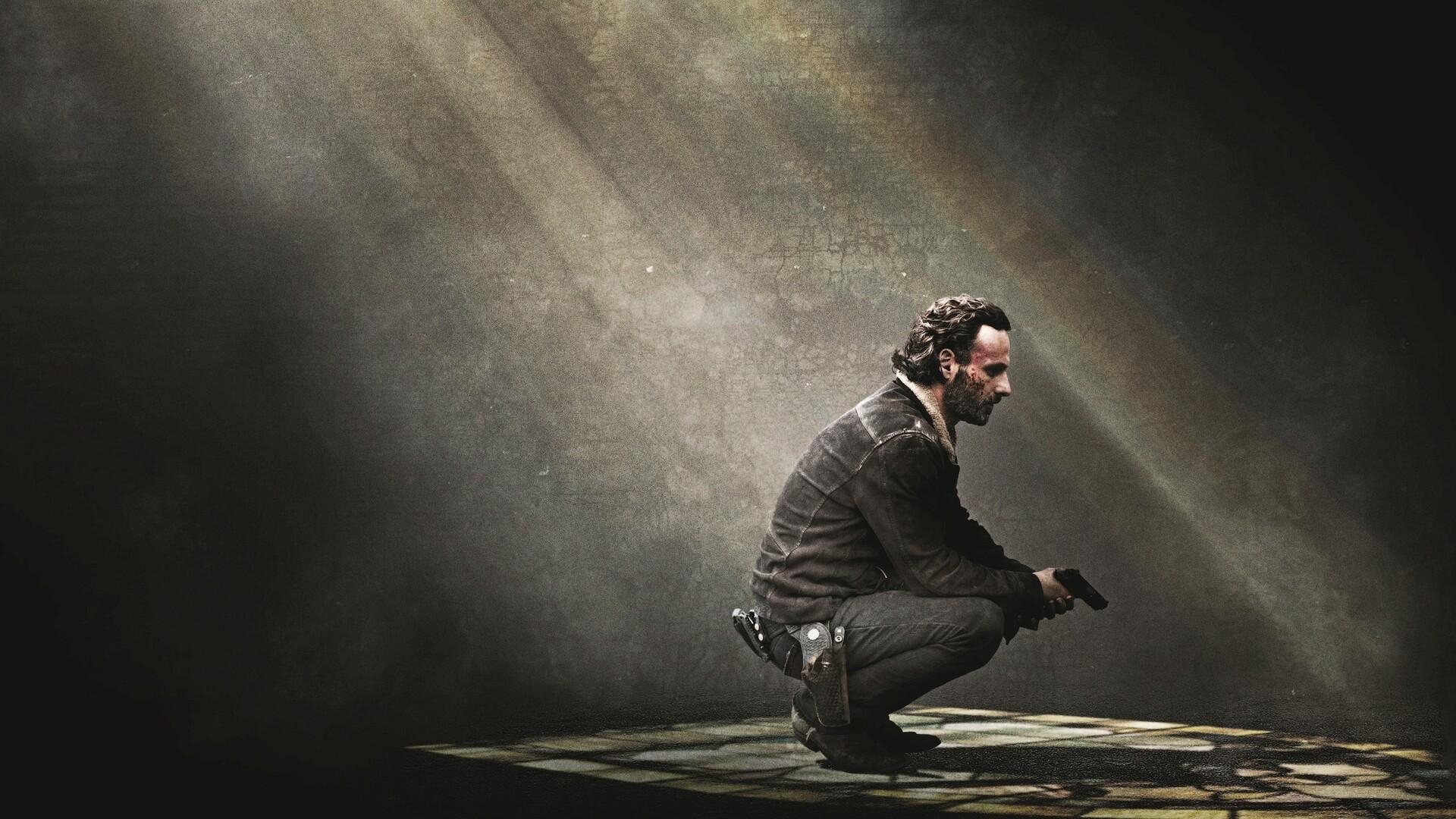 1920x1080 Rick Grimes The Walking Dead Laptop Full Hd 1080p Hd 4k
