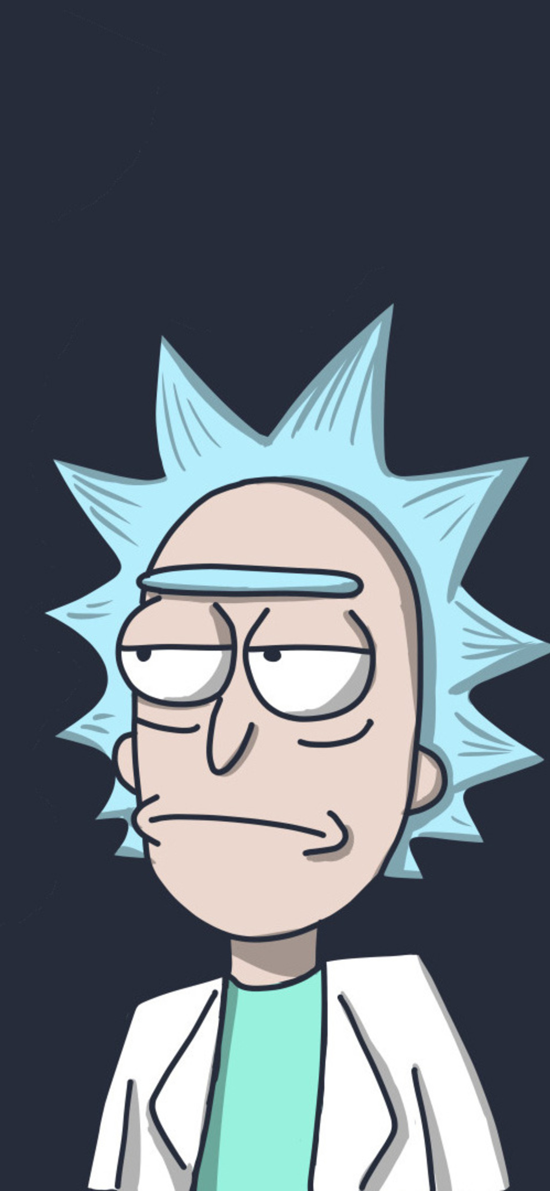 1125x2436 rick in rick and morty iphone xs iphone 10 iphone x hd 4k.