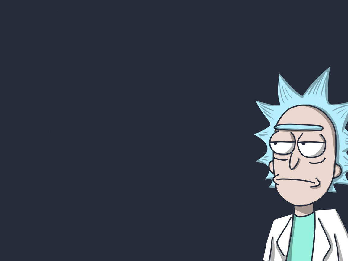 1152x864 Rick In Rick And Morty 1152x864 Resolution HD 4k