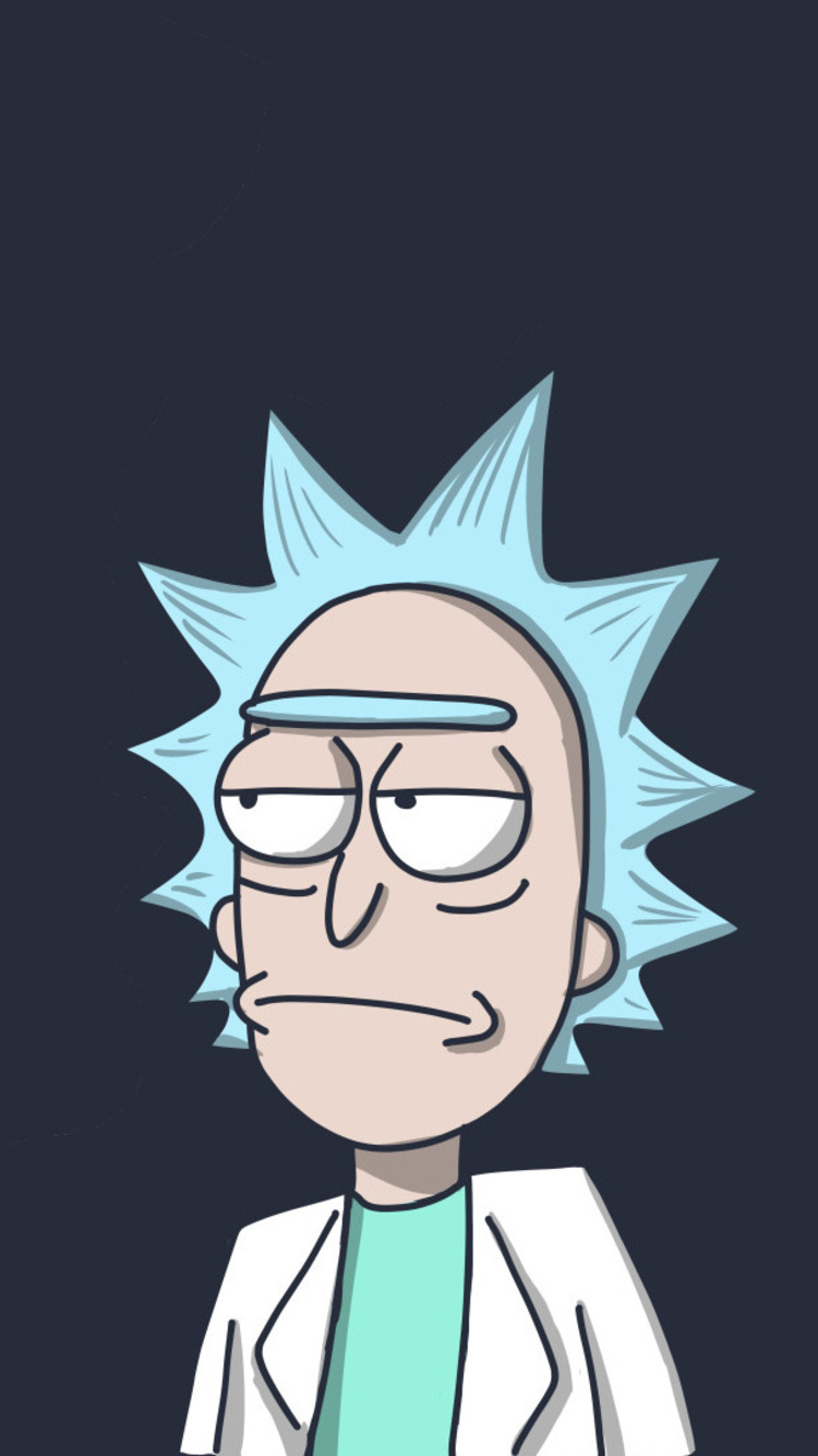 750x1334 Rick In Rick And Morty Iphone 6 Iphone 6s Iphone