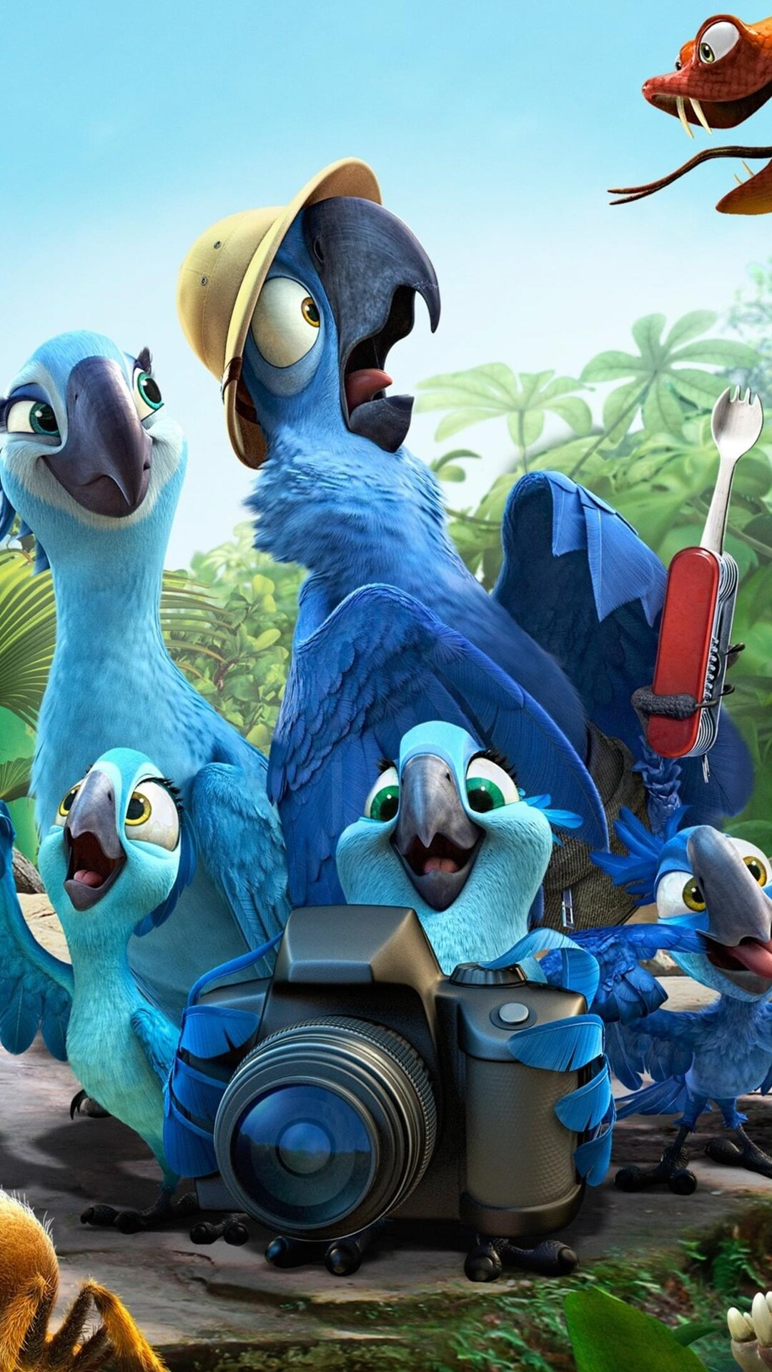 1080x1920 rio 2 movie hd iphone 7,6s,6 plus, pixel xl ,one plus 3,3t