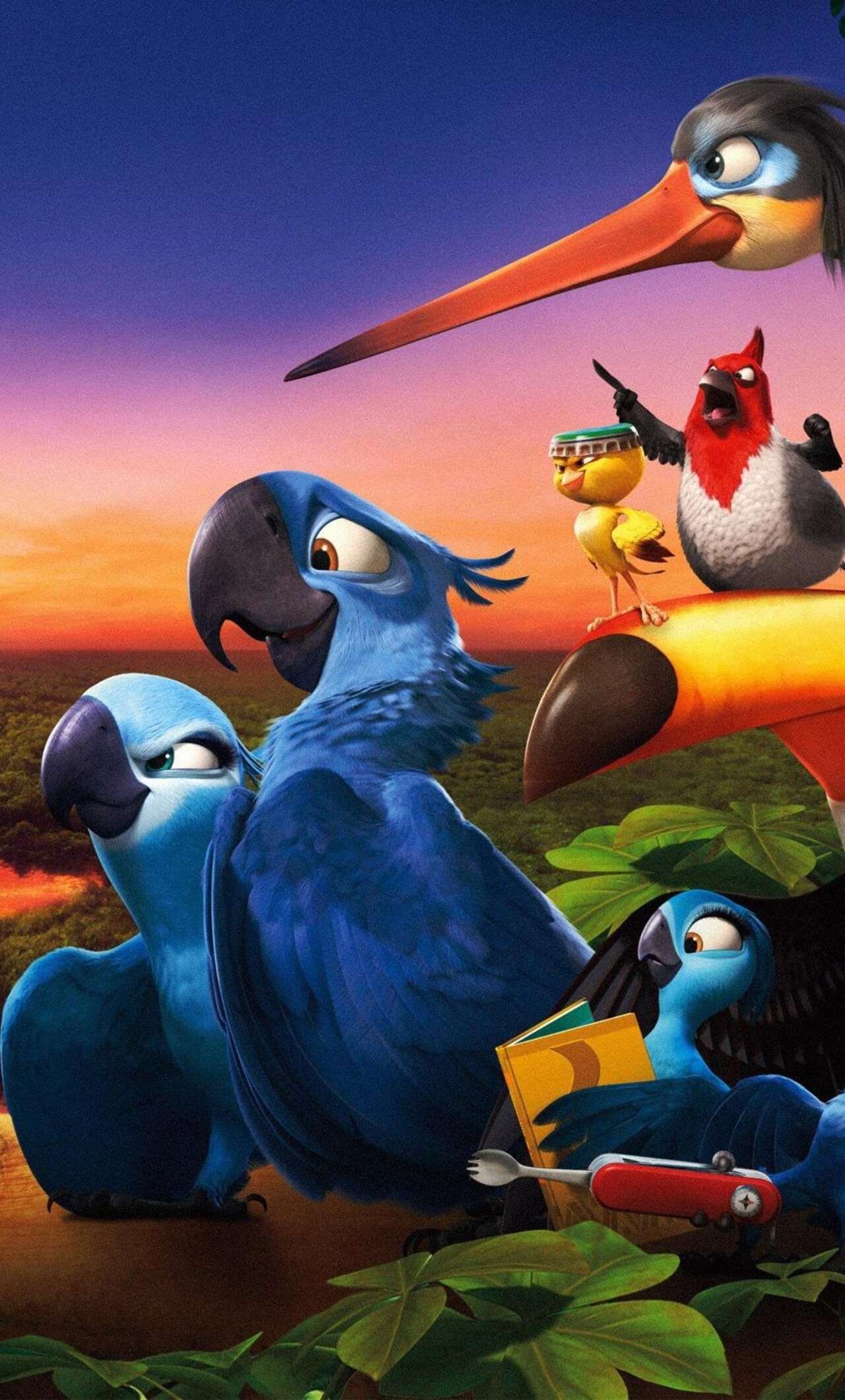 1280x2120 rio 2 movie wide iphone 6+ hd 4k wallpapers, images