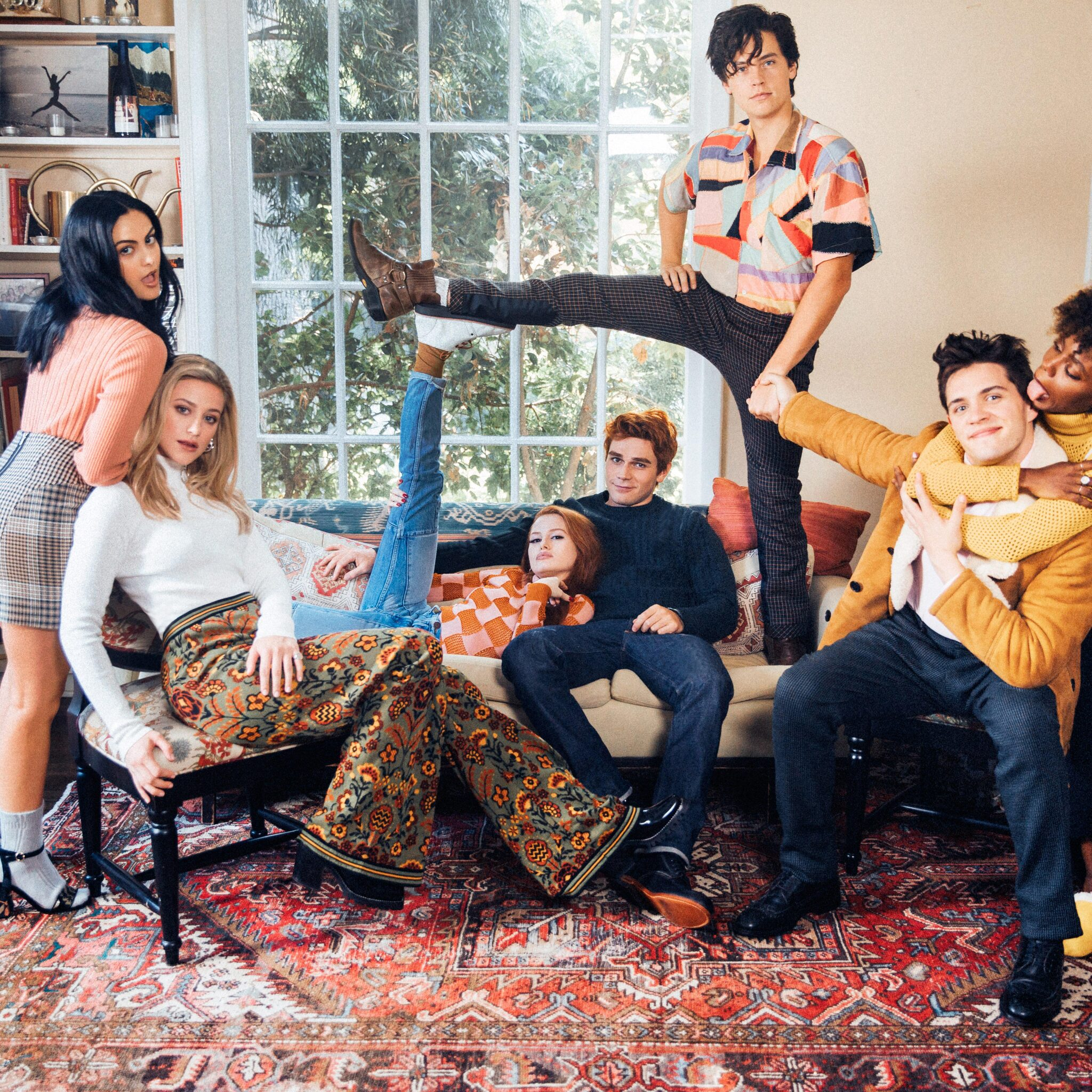 Riverdale Wallpaper: 2048x2048 Riverdale Season 2 Cast Photoshoot 5k Ipad Air