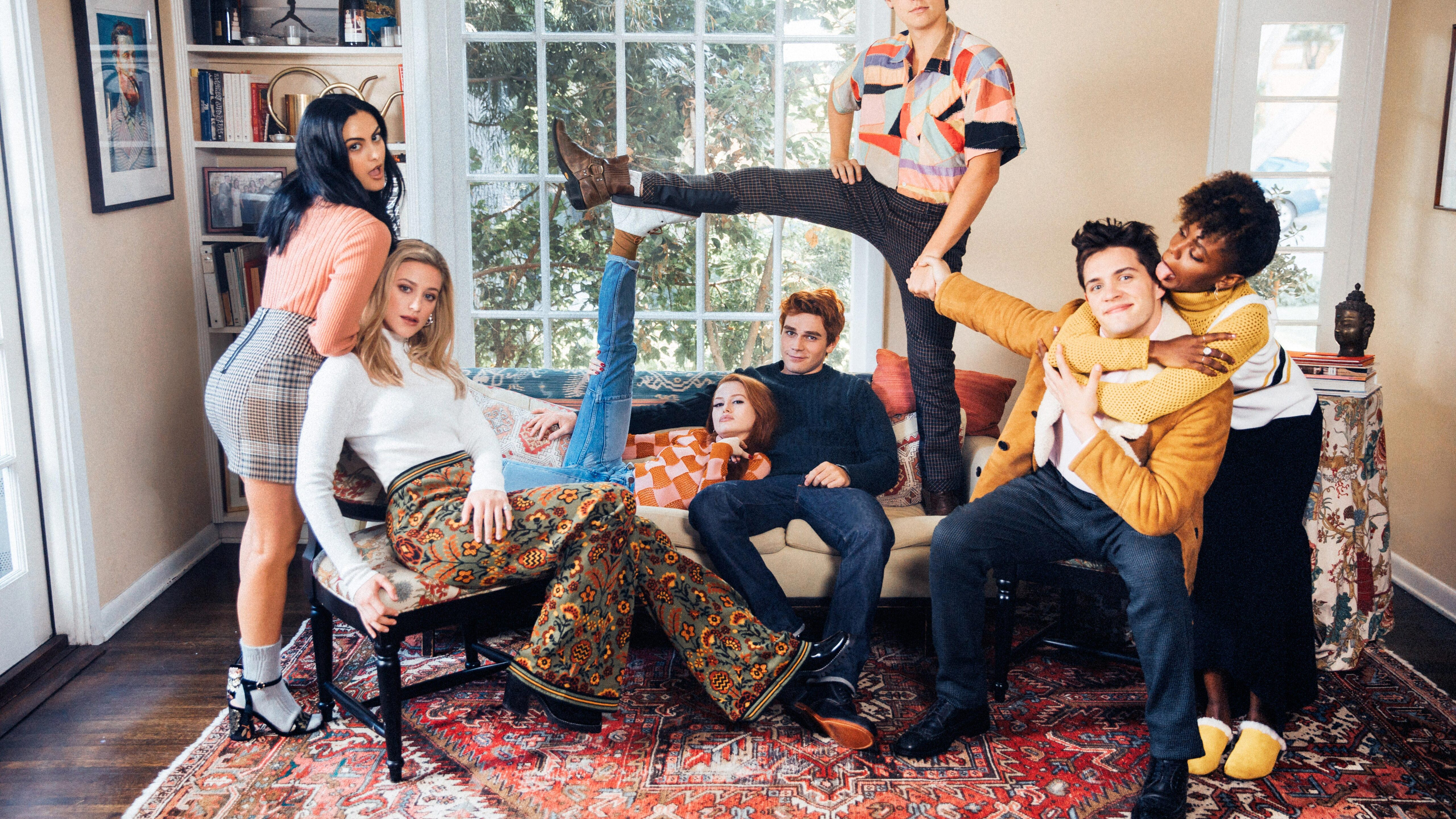 5120x2880 riverdale season 2 cast photoshoot 5k 5k hd 4k - Tv series wallpaper 4k ...