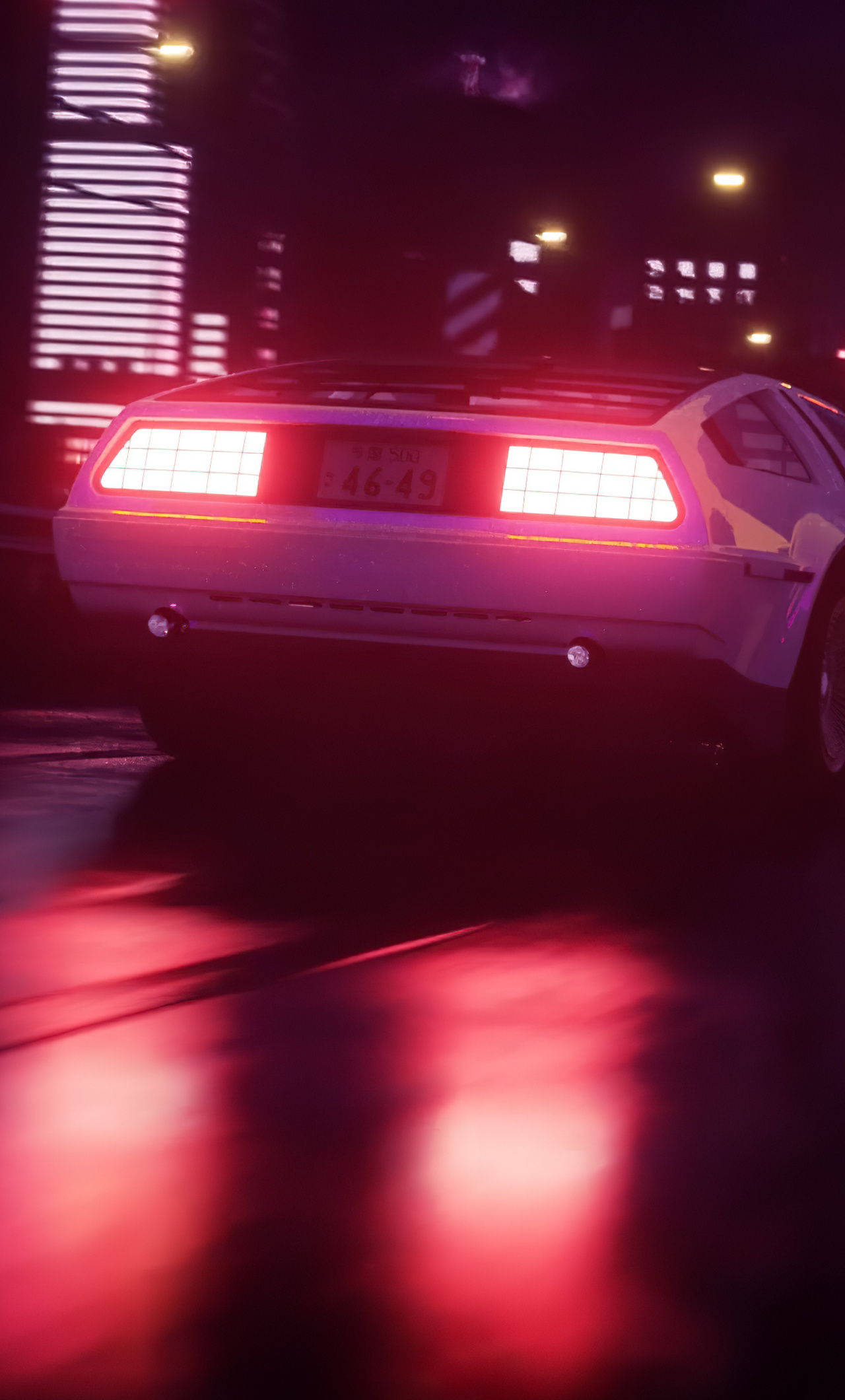 1280x2120 Road Car Vaporwave Iphone 6 Hd 4k Wallpapers Images Backgrounds Photos And Pictures