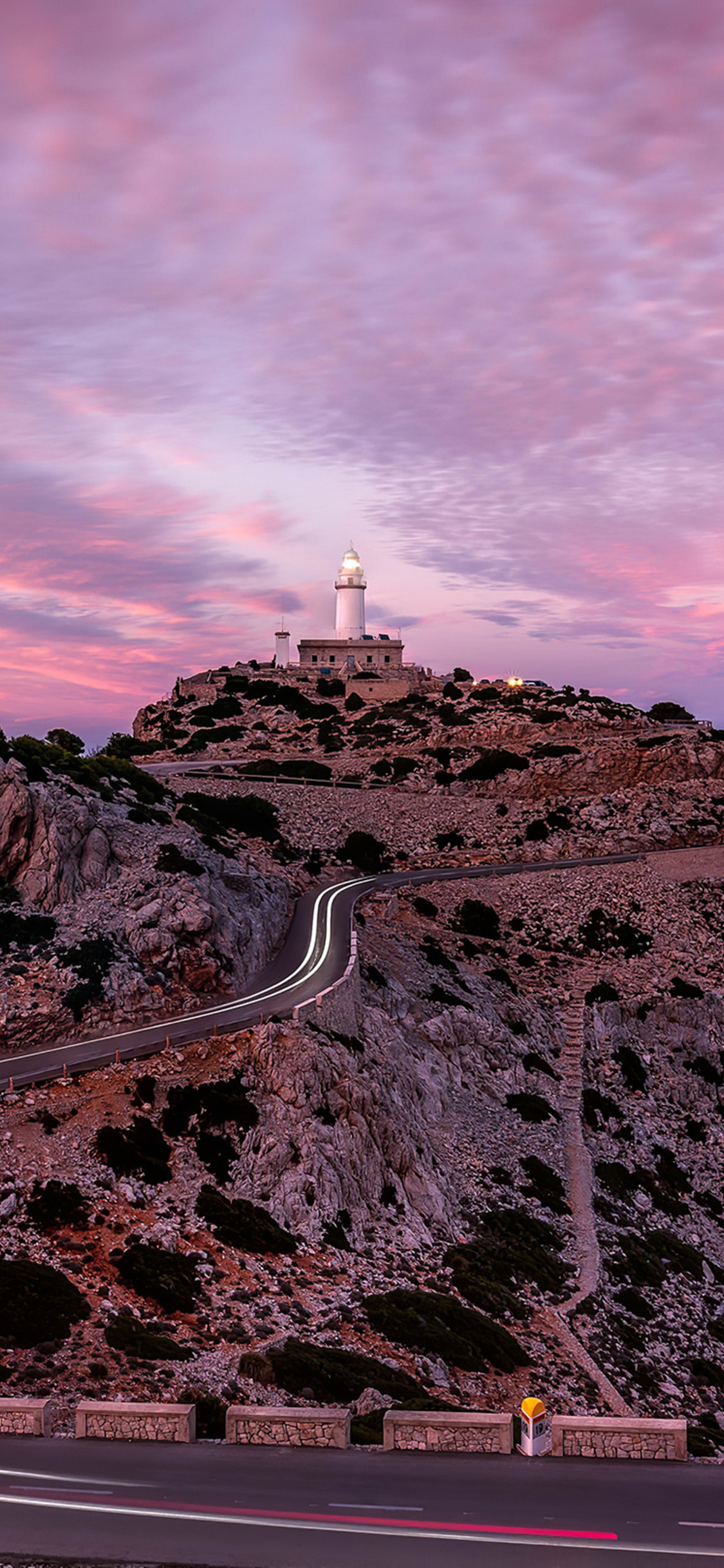 1125x2436 Road To Light House Iphone Xs Iphone 10 Iphone X