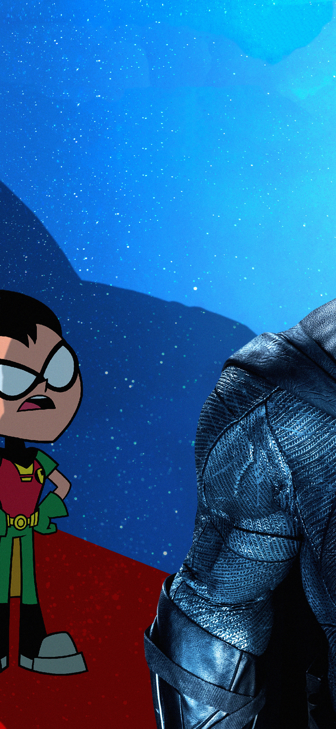 1125x2436 Robin In Teen Titans Go To The Movies 2018 Movie