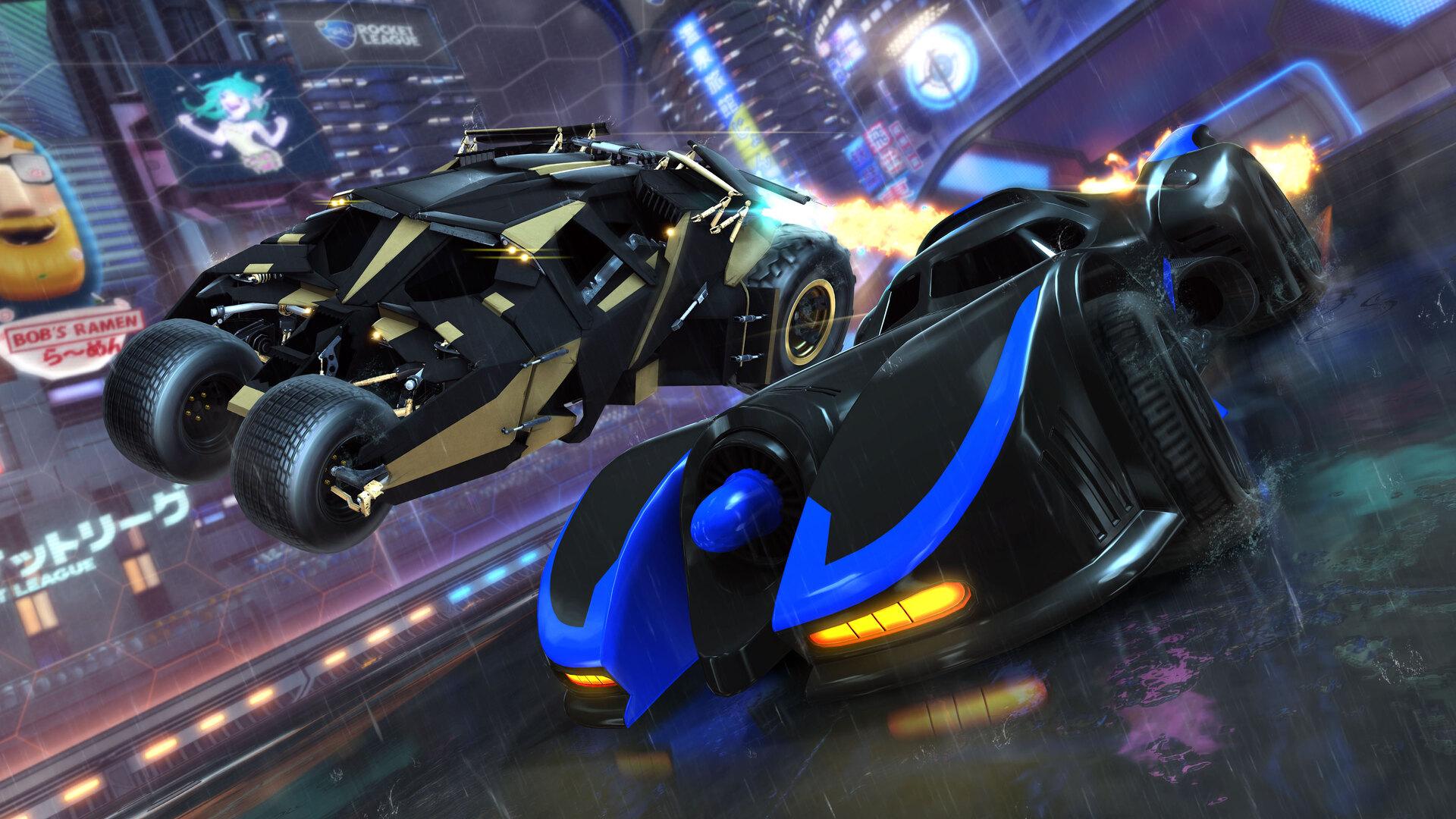 how to change rocket league resolution