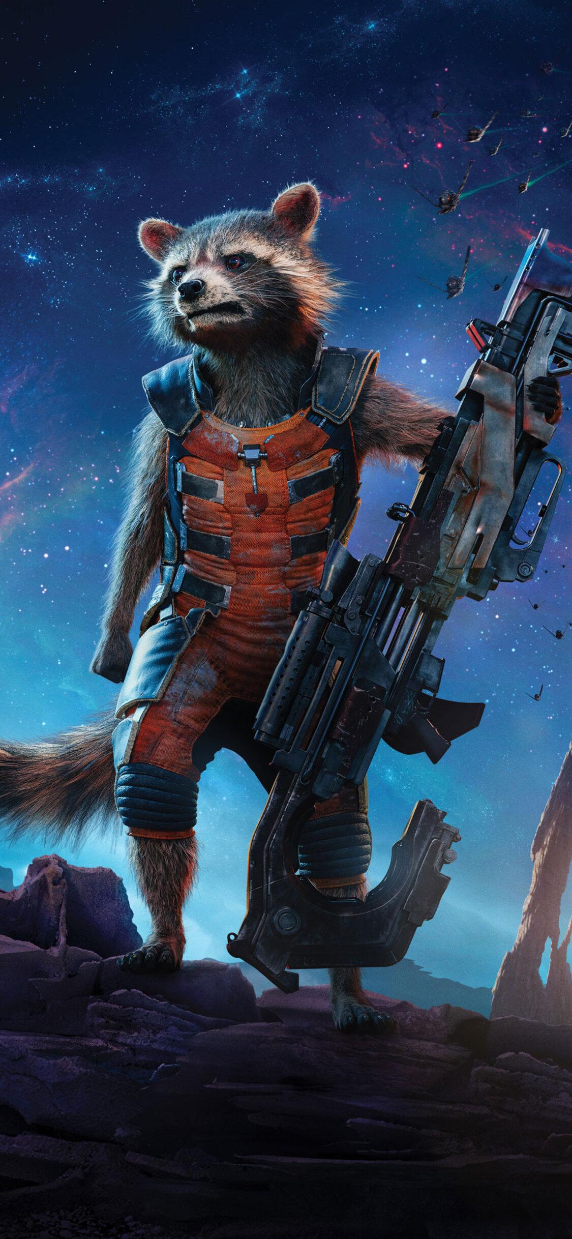 Rocket Raccoon Guardians Of The Galaxy 5k Ap