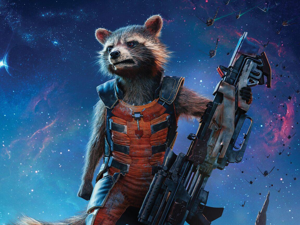 1152x864 rocket raccoon guardians of the galaxy 5k - Rocket raccoon phone wallpaper ...