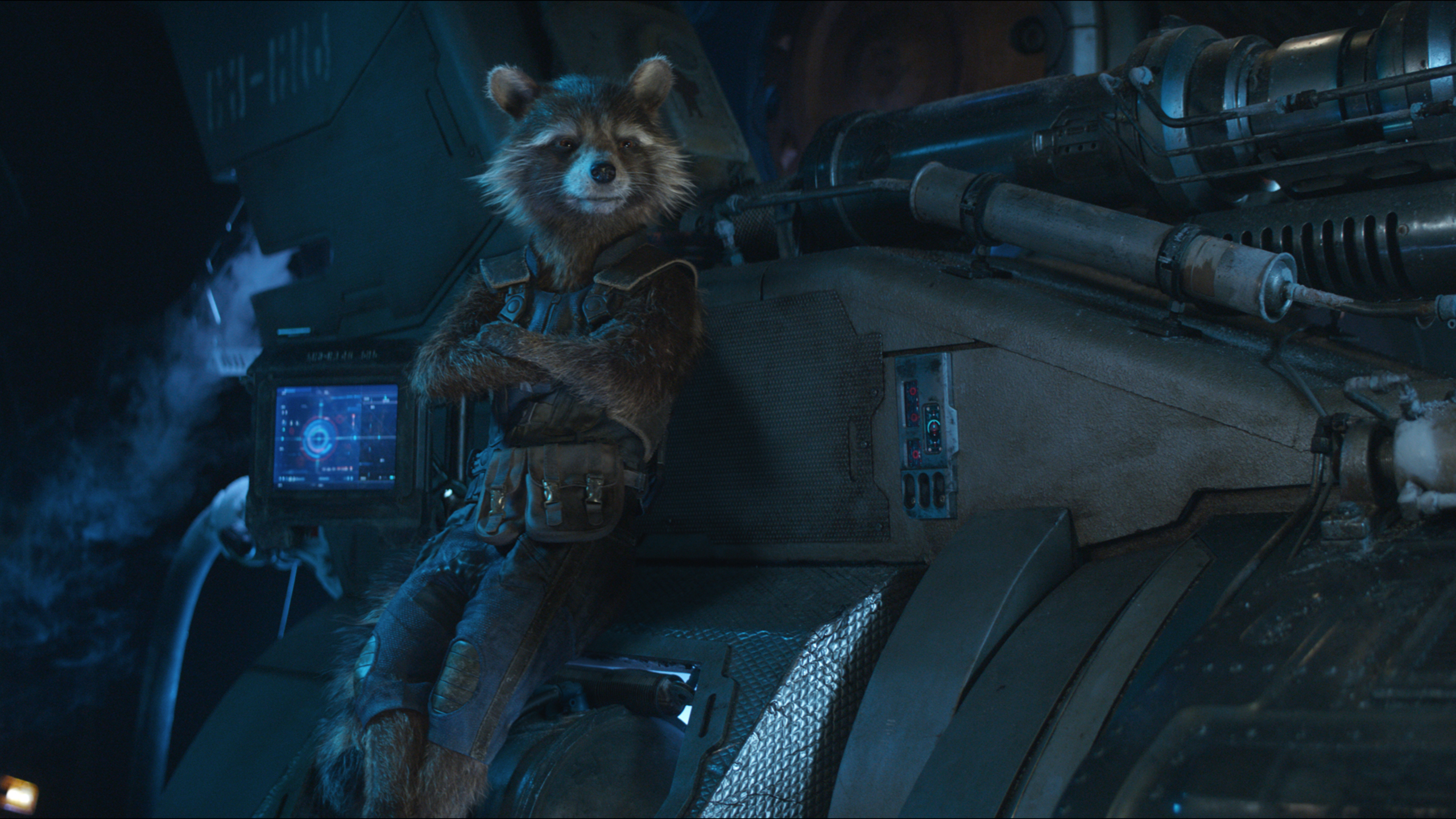 Rocket Raccoon In Avengers Infinity War Oi