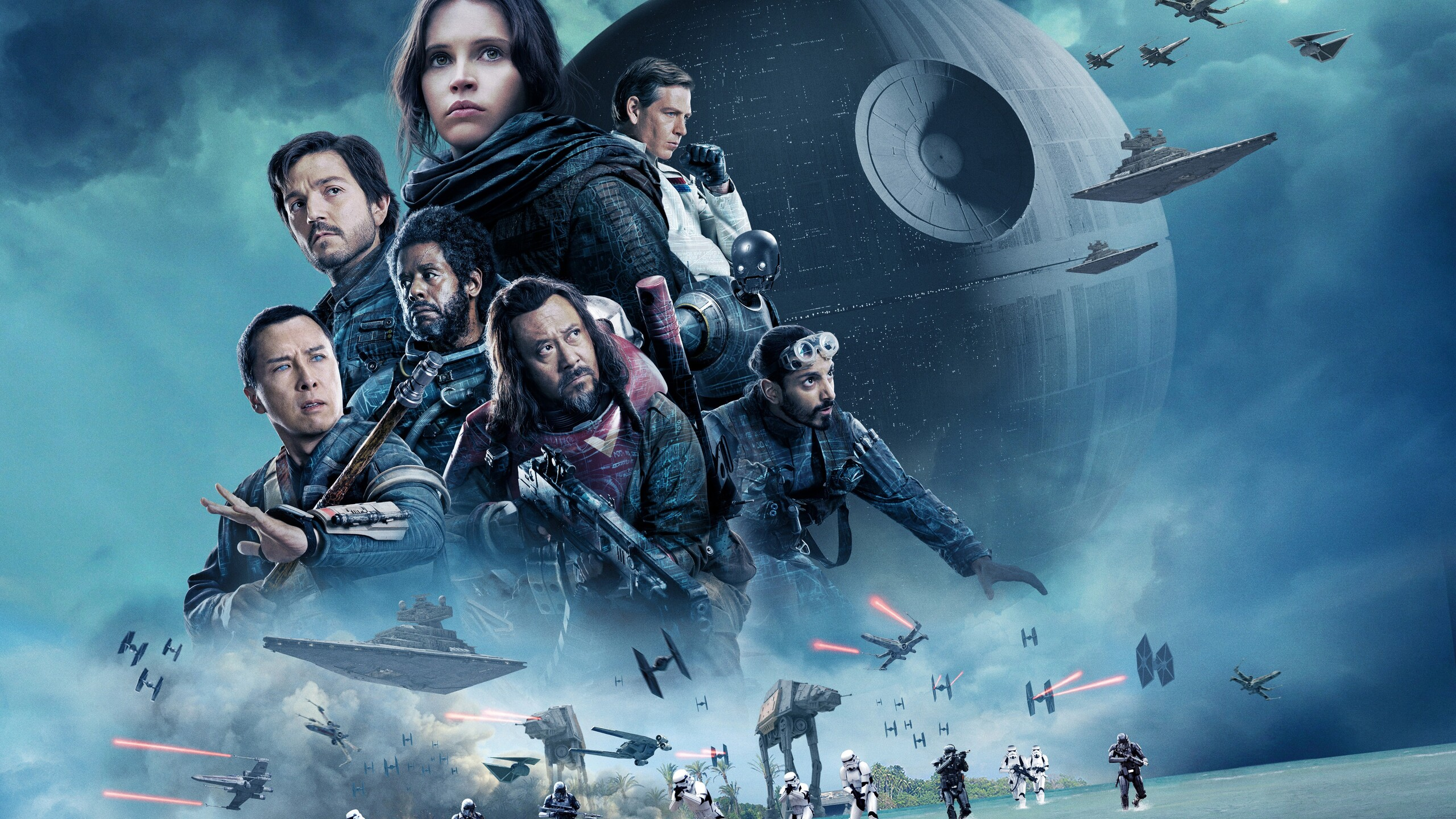 2560x1440 Rogue One A Star Wars Story 5k 2017 1440P ...