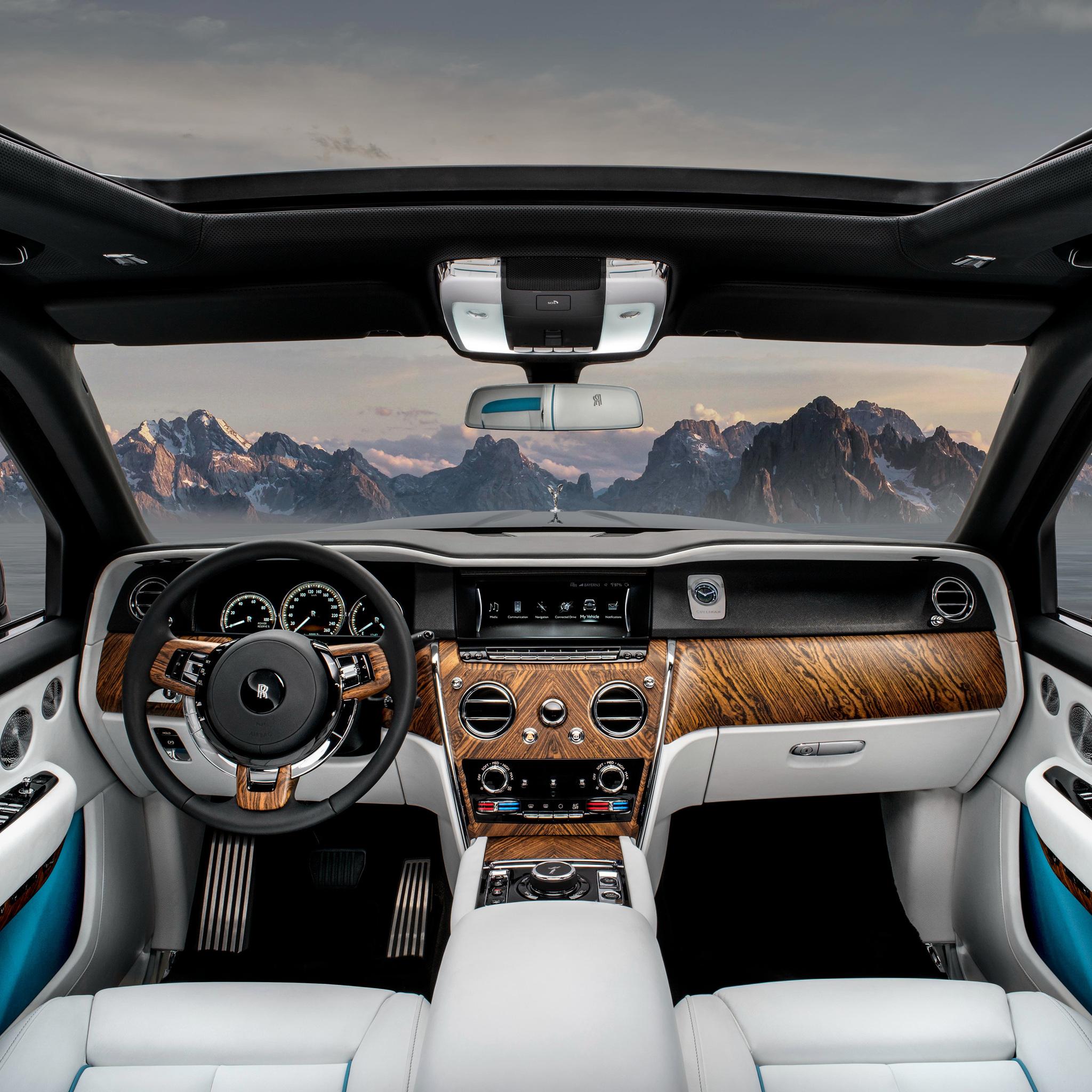 2048x2048 Rolls Royce Cullinan Interior Ipad Air HD 4k