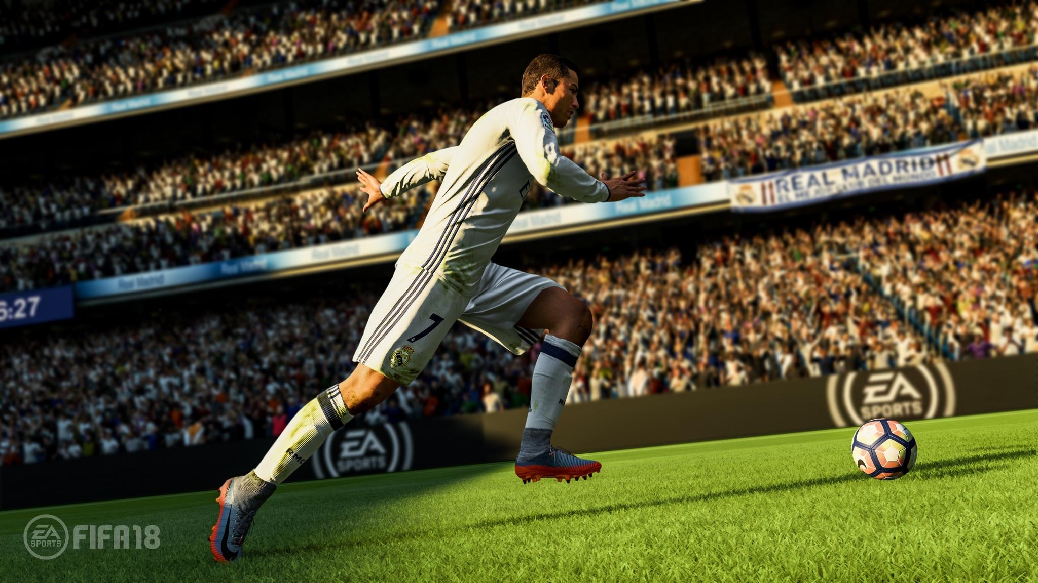 Ronaldo Fifa 18 5k 0e
