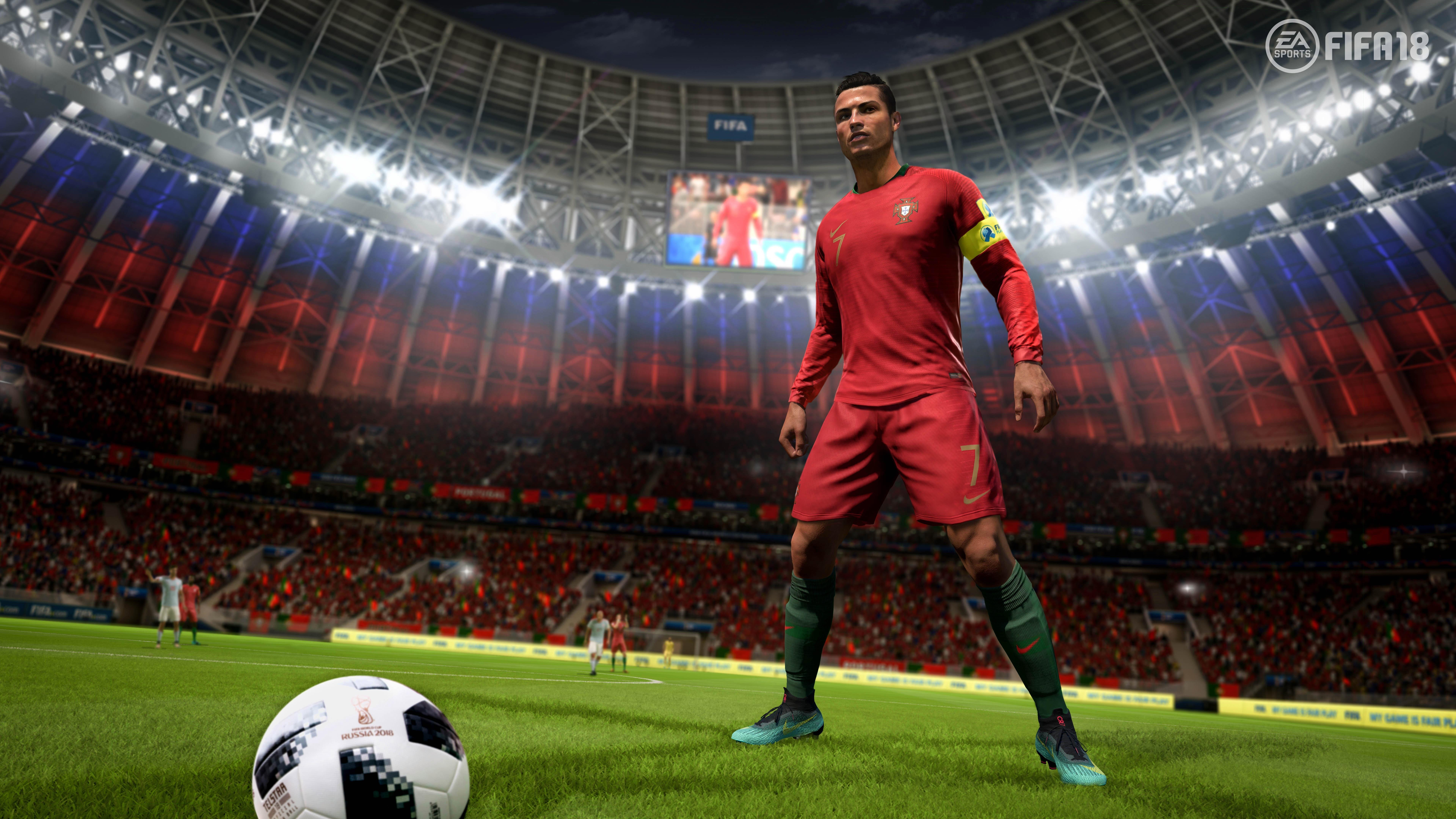 7680x4320 Ronaldo Fifa 18 8k 8k Hd 4k Wallpapers Images Backgrounds Photos And Pictures