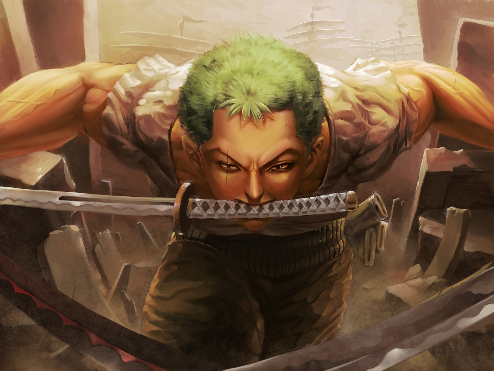 1600x1200 Roronoa Zoro 4k 1600x1200 Resolution Hd 4k Wallpapers Images Backgrounds Photos And Pictures