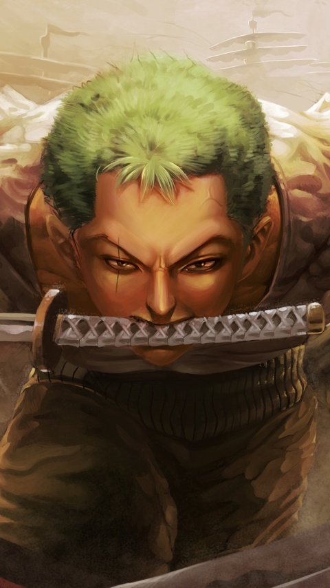 480x854 Roronoa Zoro 4k Android One Hd 4k Wallpapers Images Backgrounds Photos And Pictures