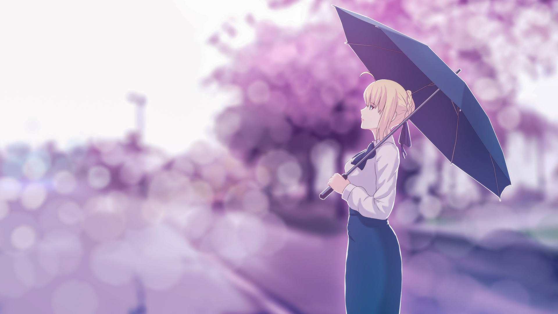 1920x1080 Saber Fate Stay Night Artwork Laptop Full Hd 1080p Hd 4k