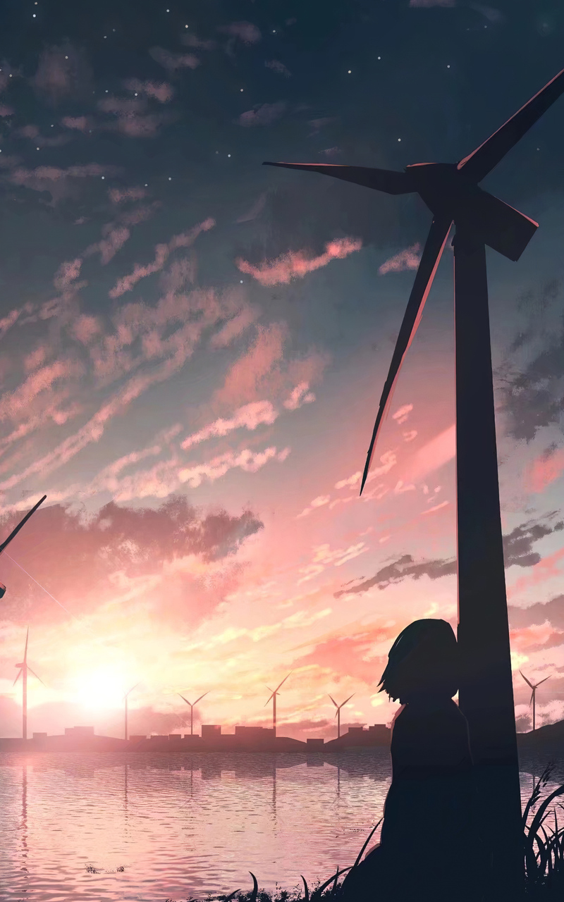 sad anime girl 4k dm