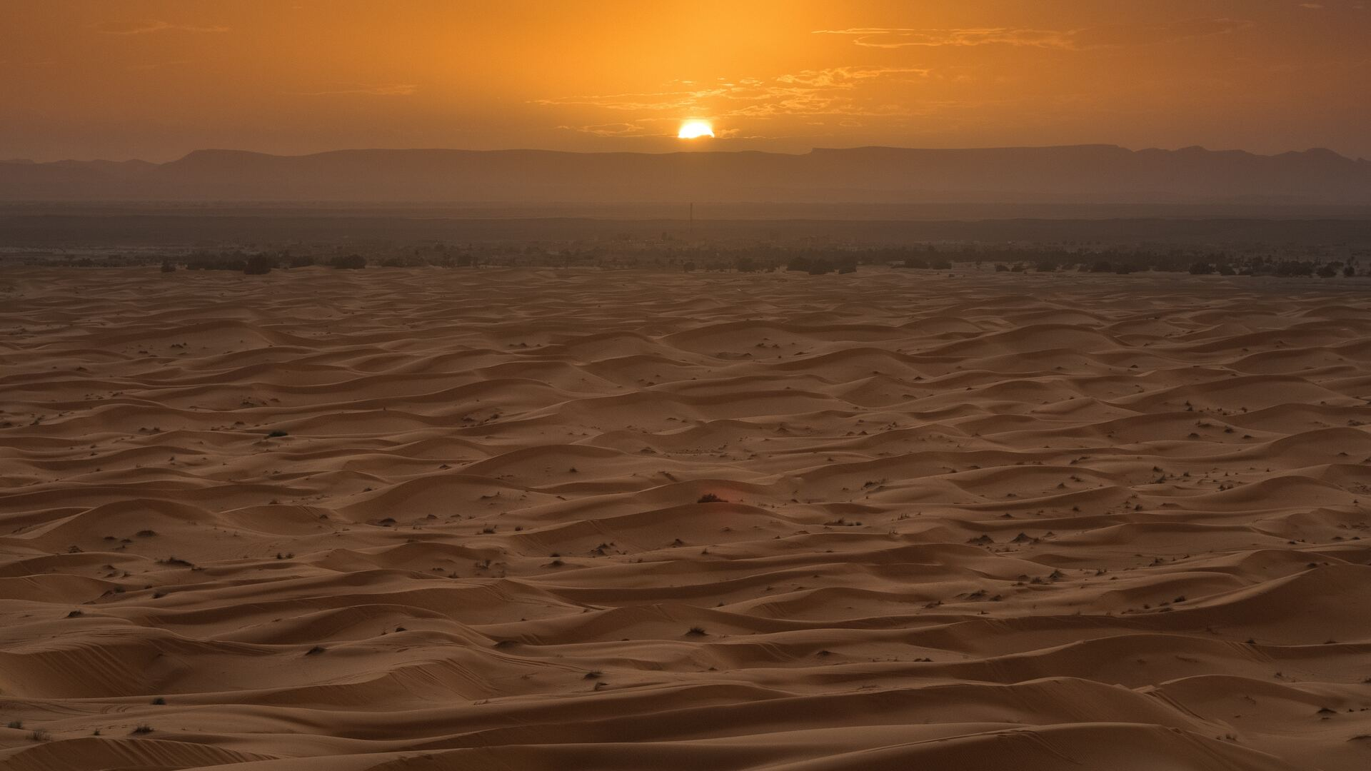 1920x1080 Sahara Desert Sunset Laptop Full Hd 1080p Hd 4k