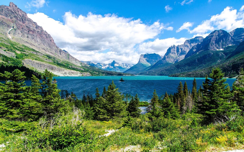 1440x900 Saint Mary Lake Glacier National Park 1440x900 Resolution