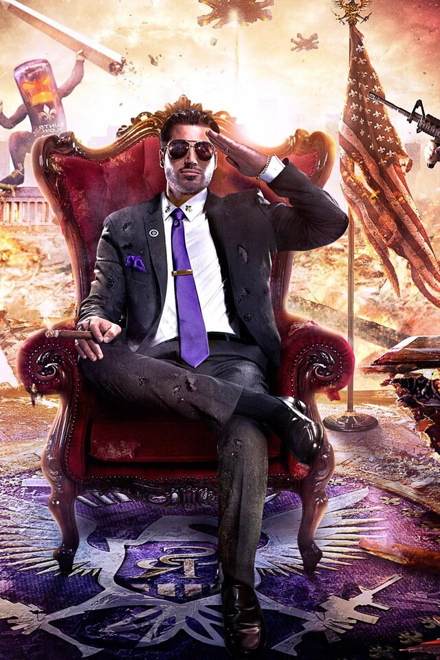 640x960 Saint Row Artwork Iphone 4 Iphone 4s Hd 4k