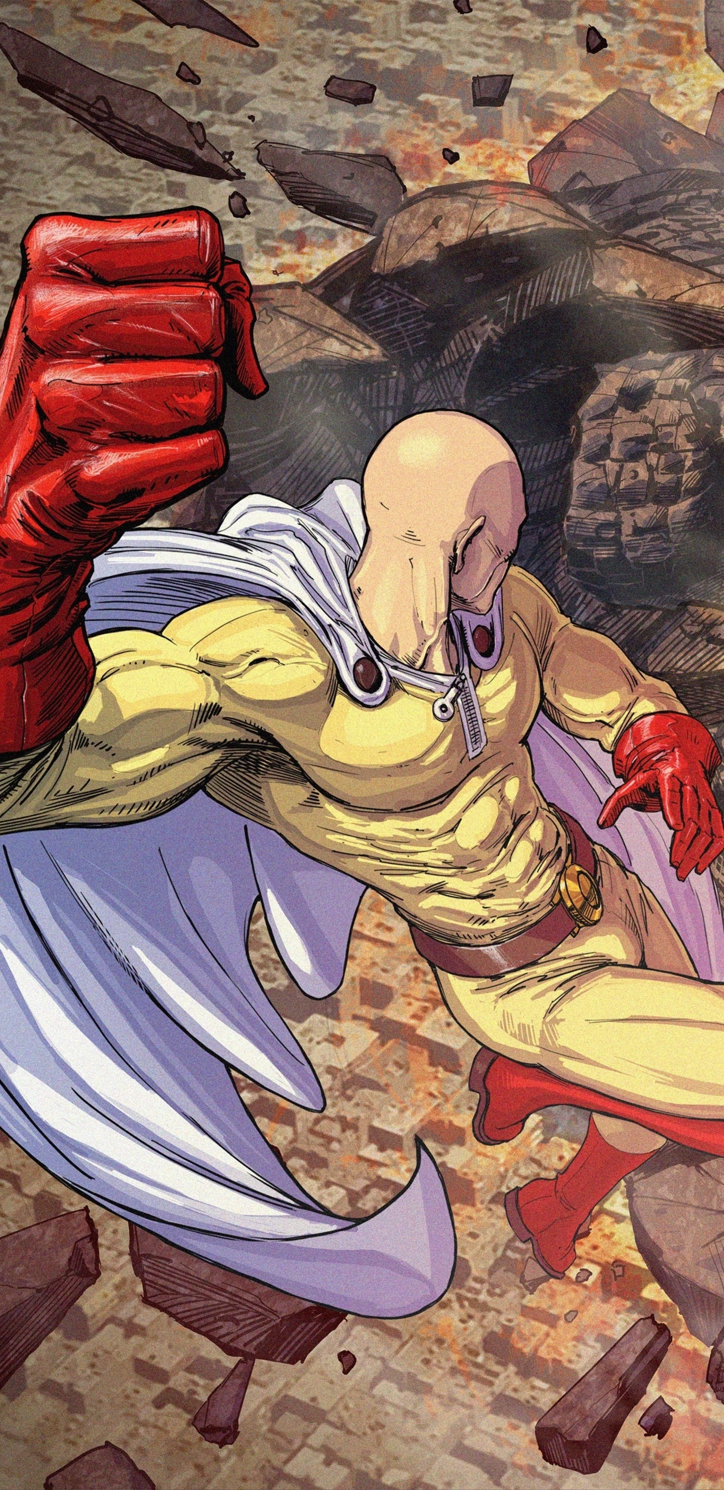 4k Wallpaper One Punch Man Wallpaper Download Free