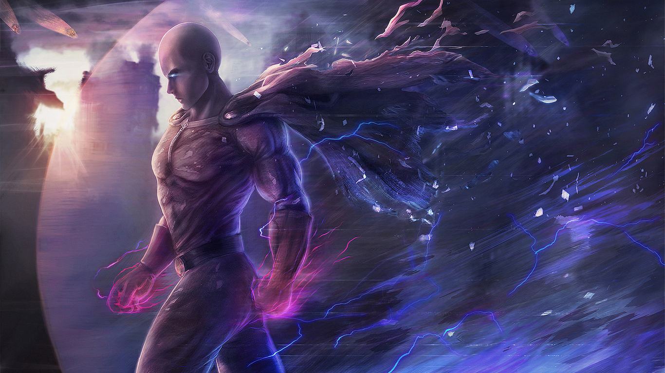 1366x768 Saitama One Punch Man 1366x768 Resolution Hd 4k