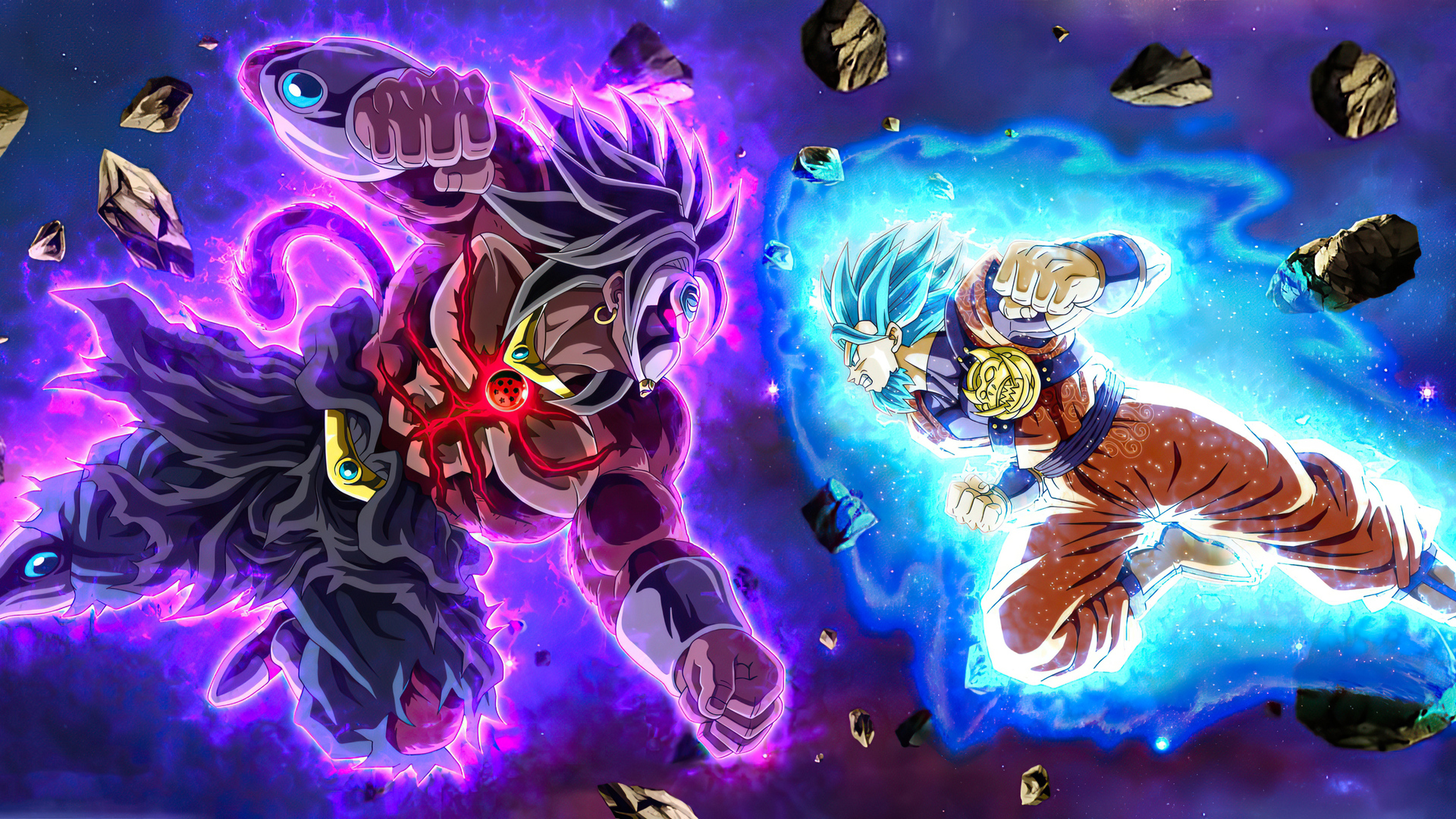 1920x1080 Saiyan Oc Vs Dark Broly Laptop Full Hd 1080p Hd 4k Wallpapers Images Backgrounds Photos And Pictures