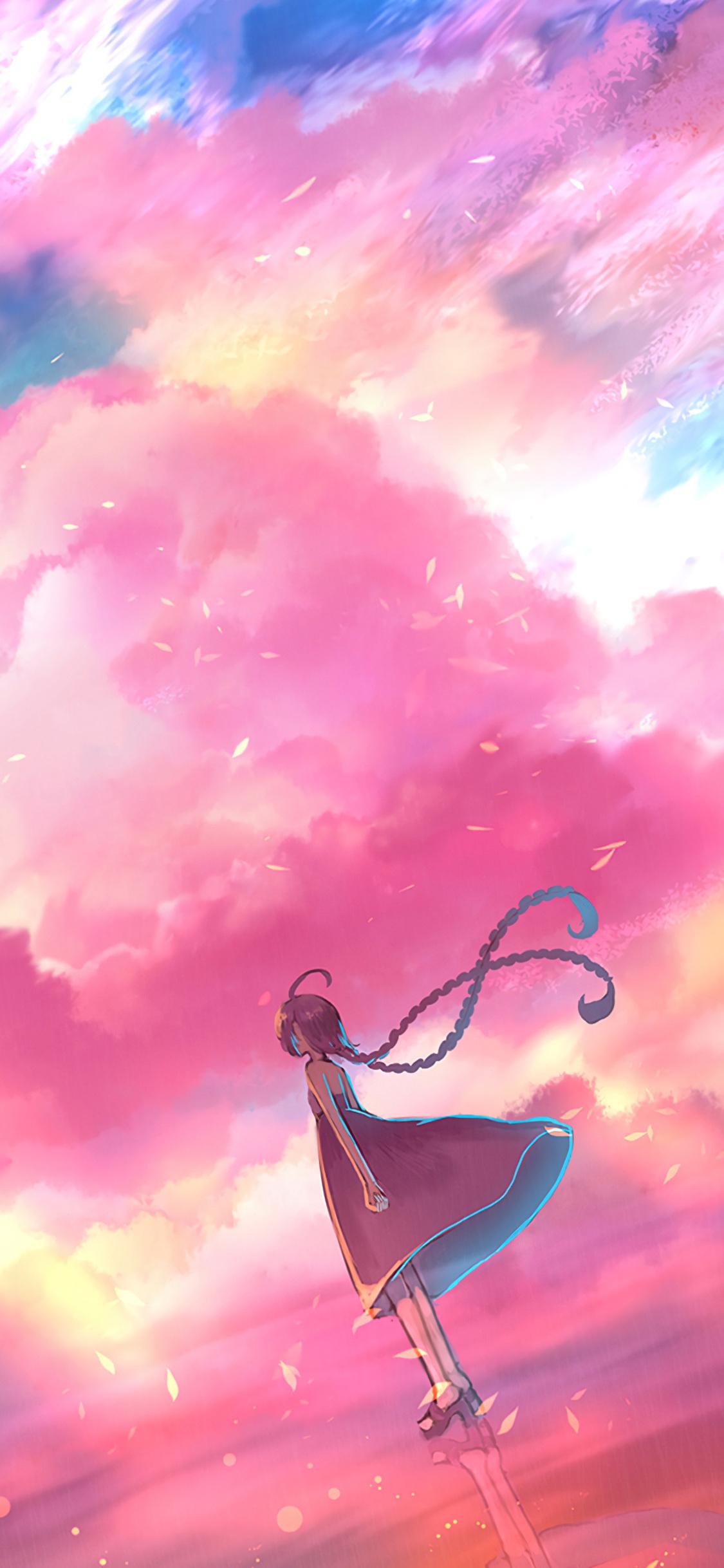1125x2436 yamashita shunya, anime, girl Iphone XS,Iphone