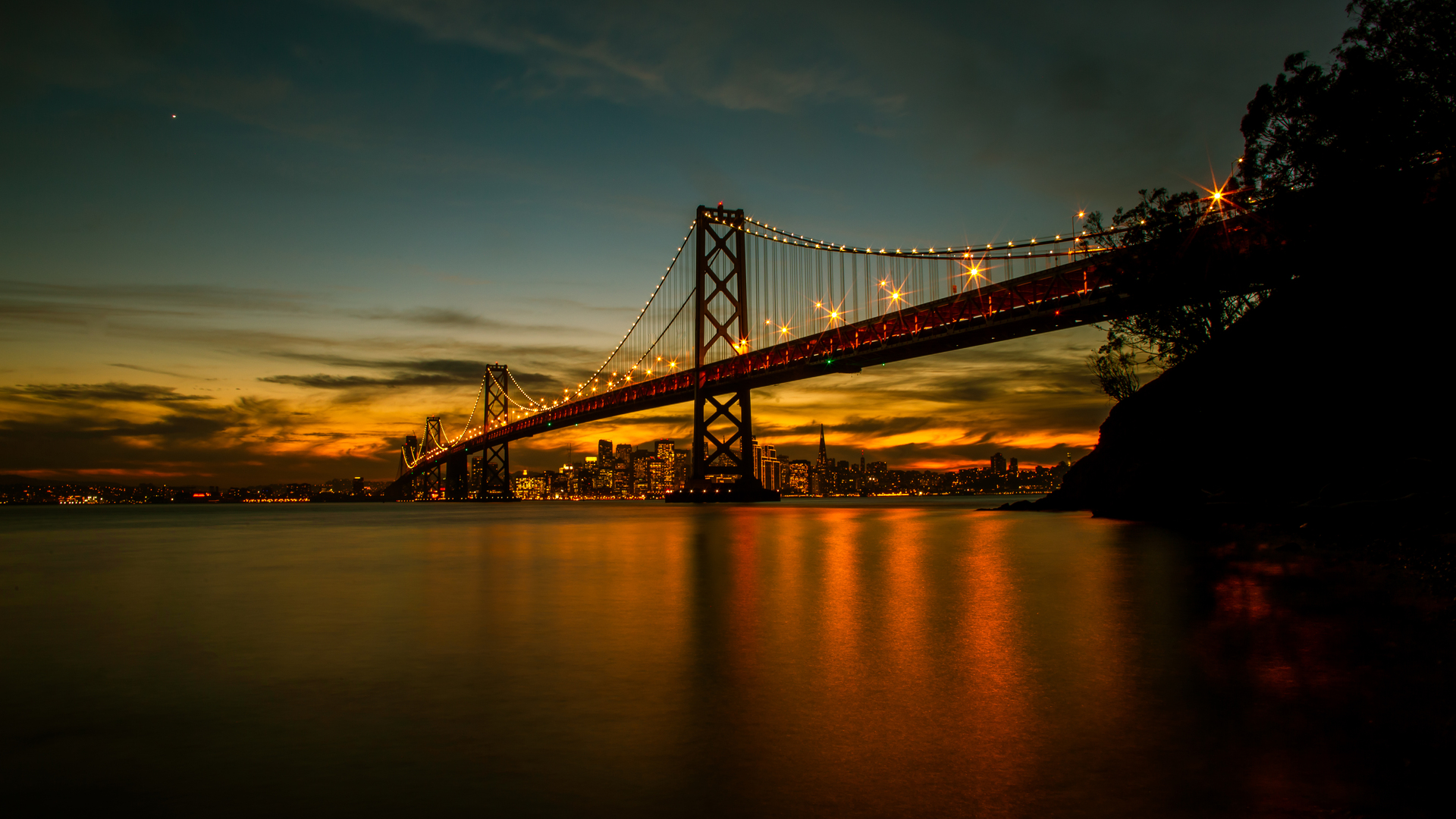 1920x1080 San Francisco Bay Bridge 5k Laptop Full Hd 1080p Hd 4k Wallpapers Images Backgrounds Photos And Pictures