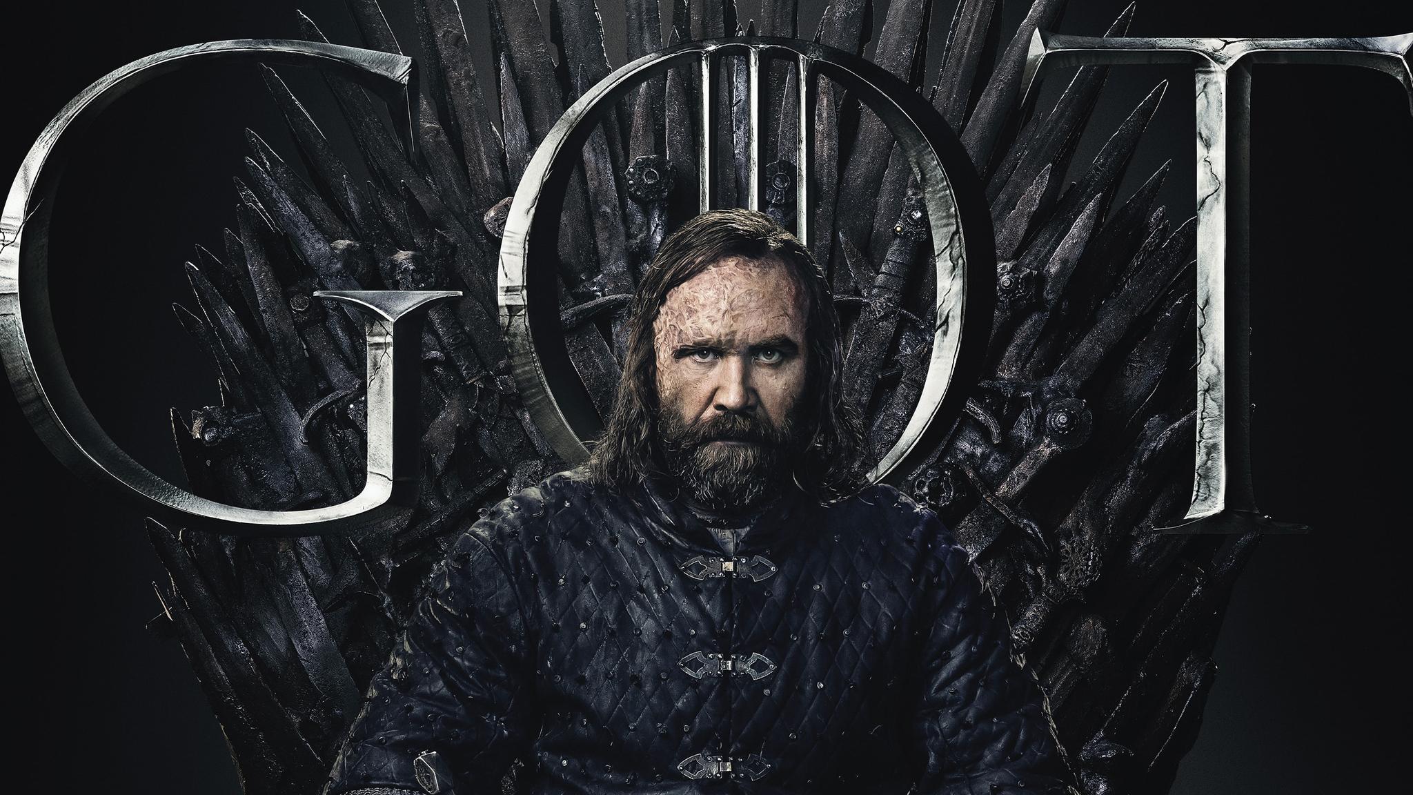 2048x1152 Sandor Clegane Hound Game Of Thrones Season 8 ...
