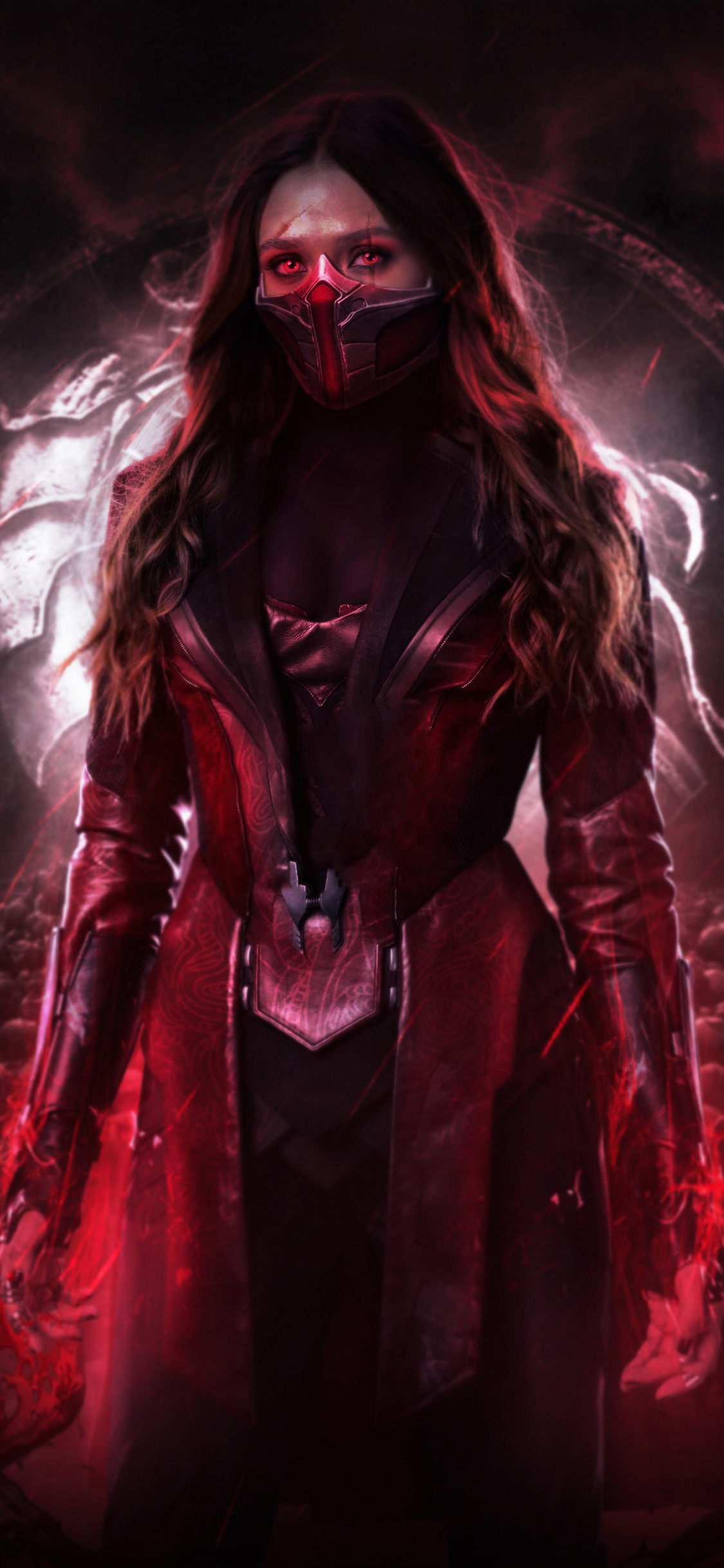 1125x2436 Scarlet Witch 4k New Iphone Xsiphone 10iphone X
