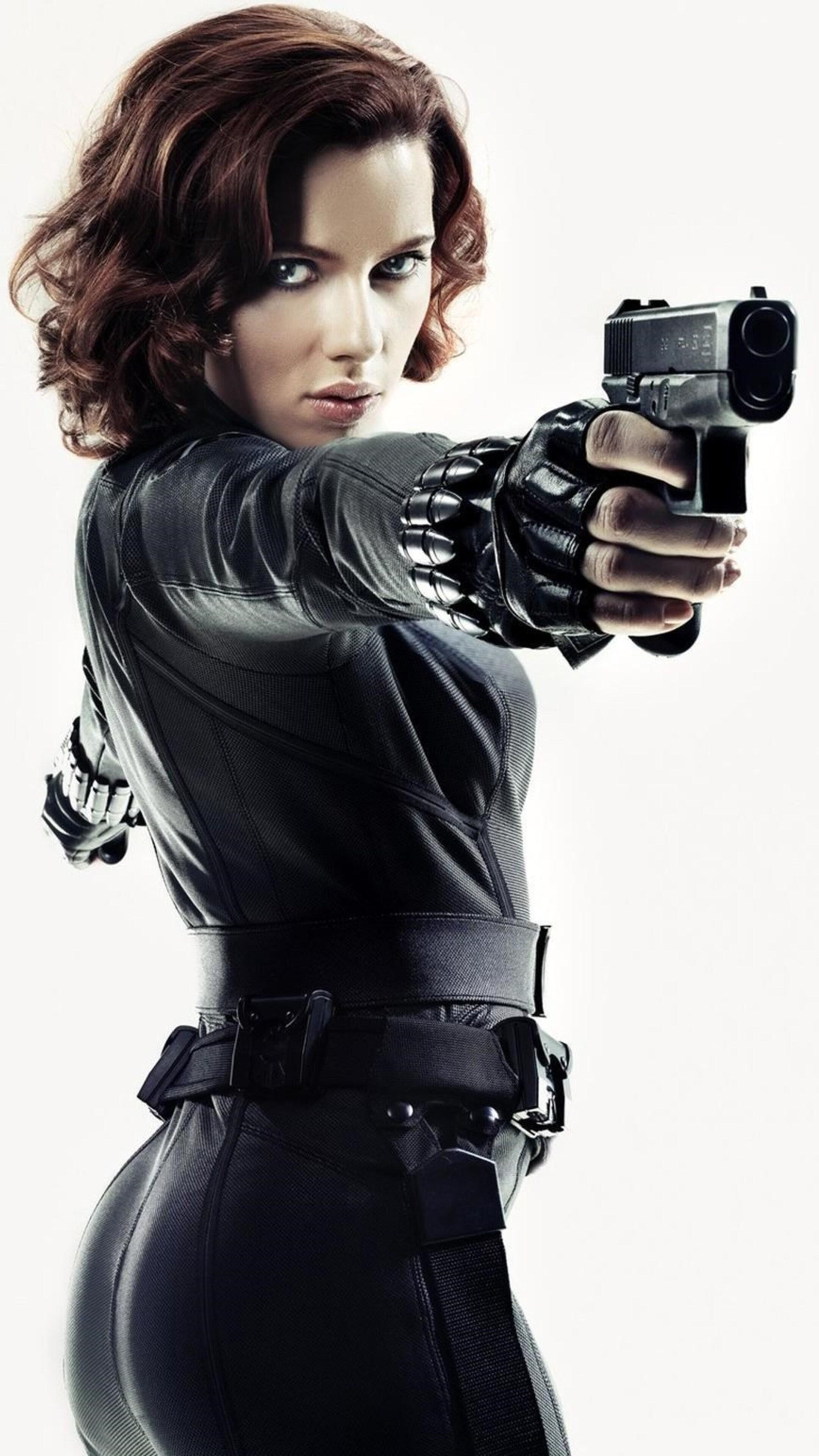 Scarlett Johansson Black Widow Wallpaper Pics