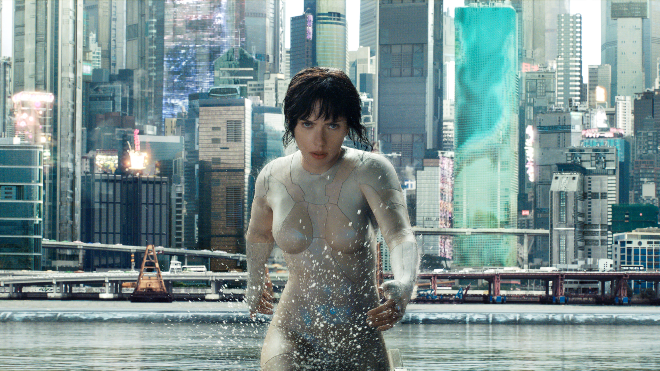 2560x1440 Scarlett Johansson In Ghost In The Shell Movie Hd