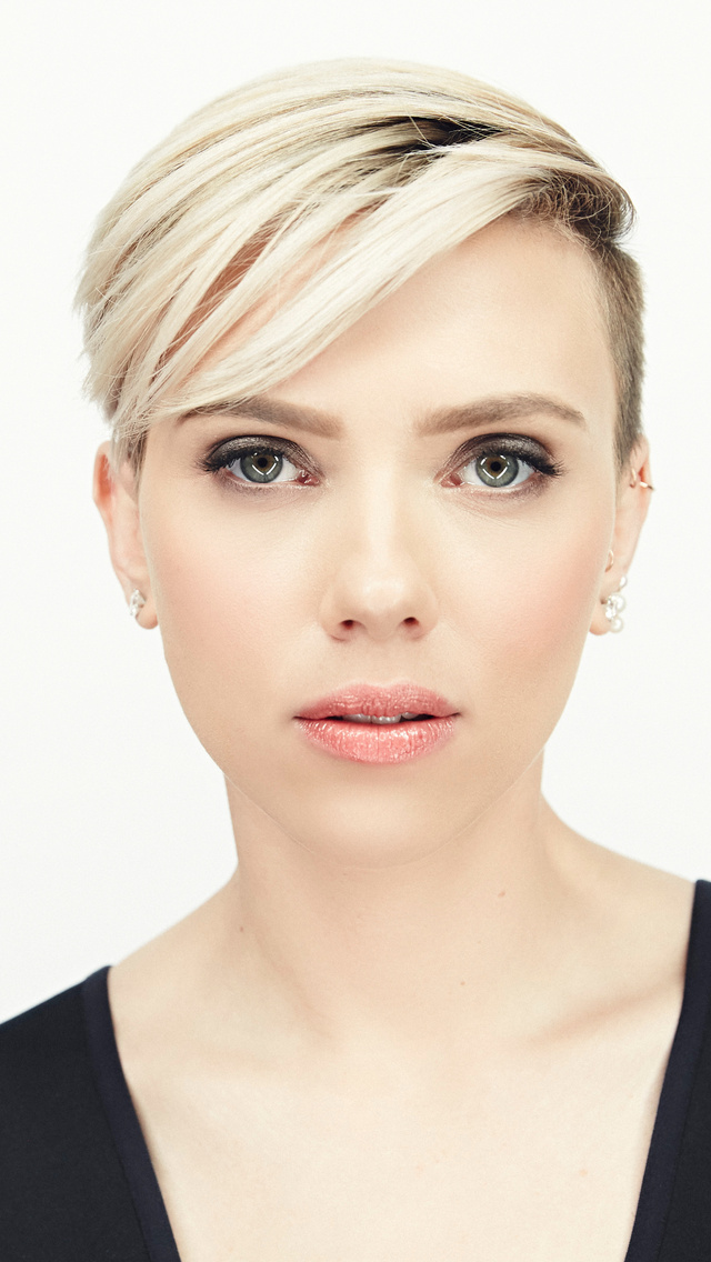 640x1136 Scarlett Johansson Short Hair Blonde 5k Iphone 5 5c 5s Se Ipod Touch Hd 4k Wallpapers Images Backgrounds Photos And Pictures