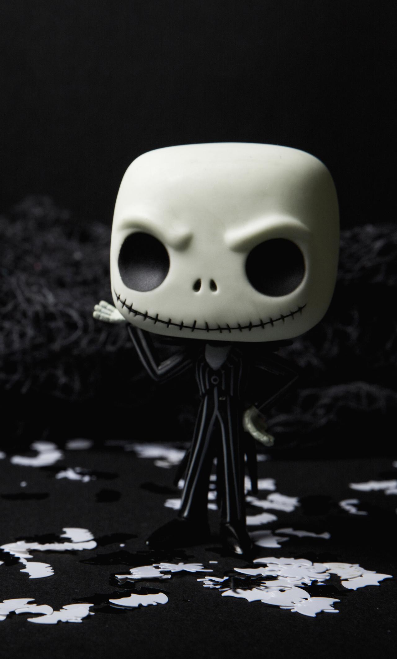 1280x2120 Scary Skull Doll Halloween Creepy 5k Iphone 6 Hd