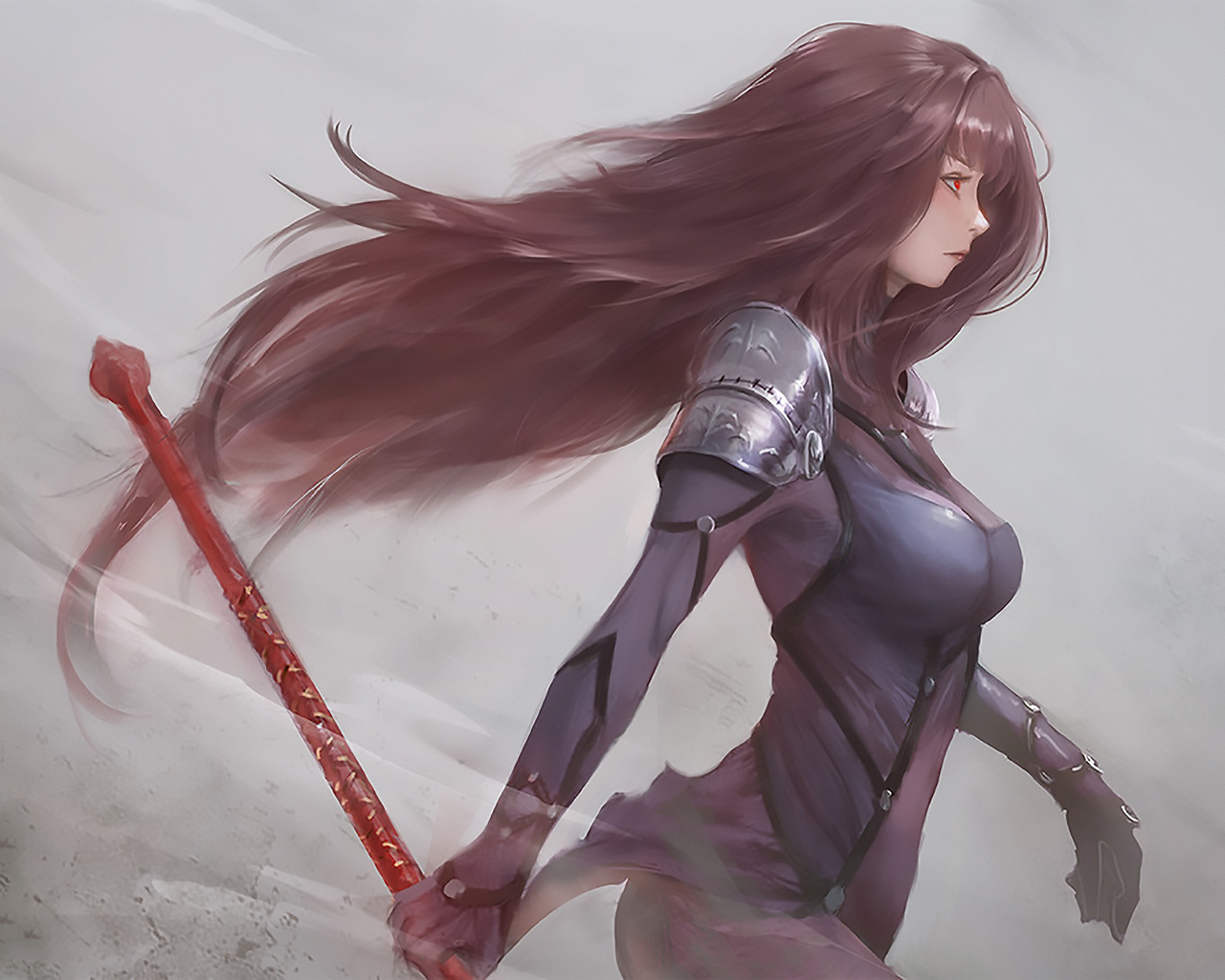 1280x1024 Scathach Fate Grand Order Artwork 1280x1024 Resolution Hd 4k Wallpapers Images Backgrounds Photos And Pictures